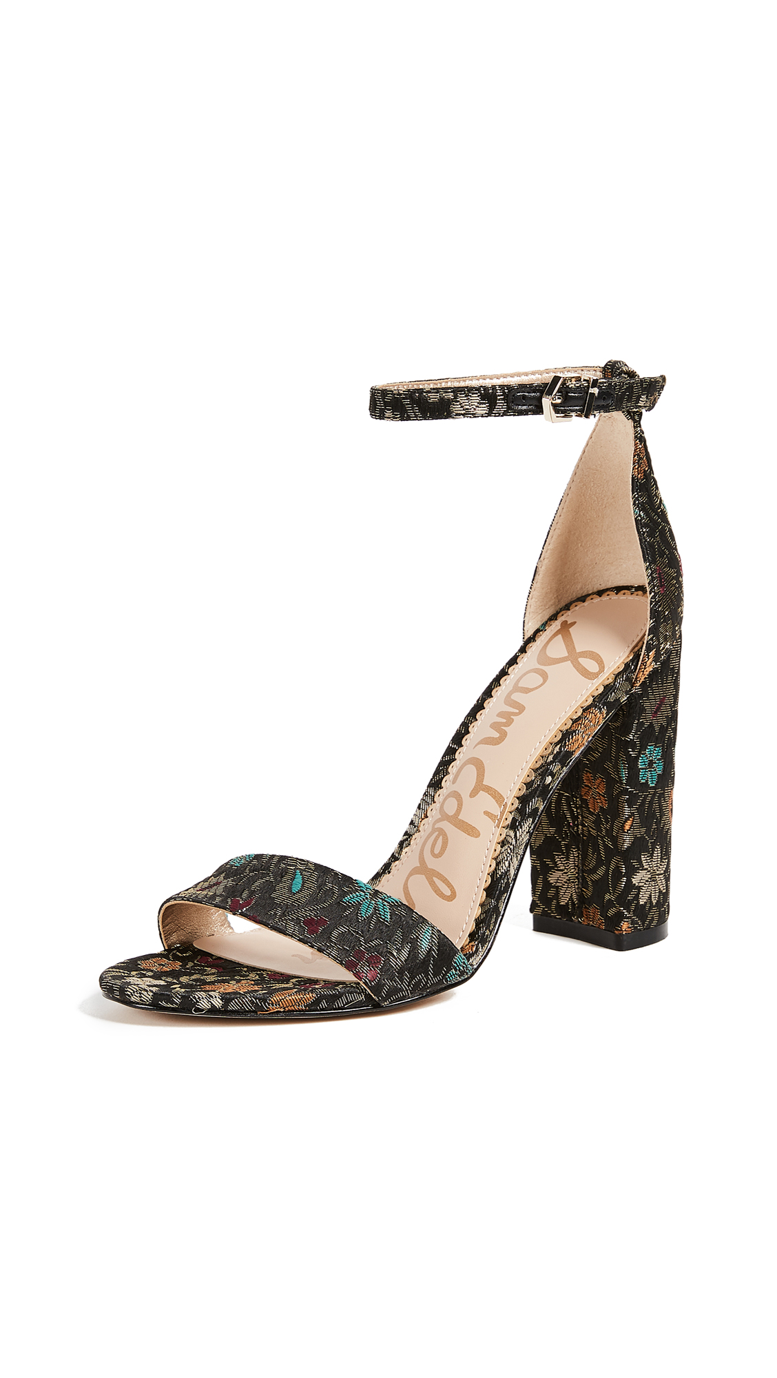 Sam Edelman Yaro Sandals - Black Multi