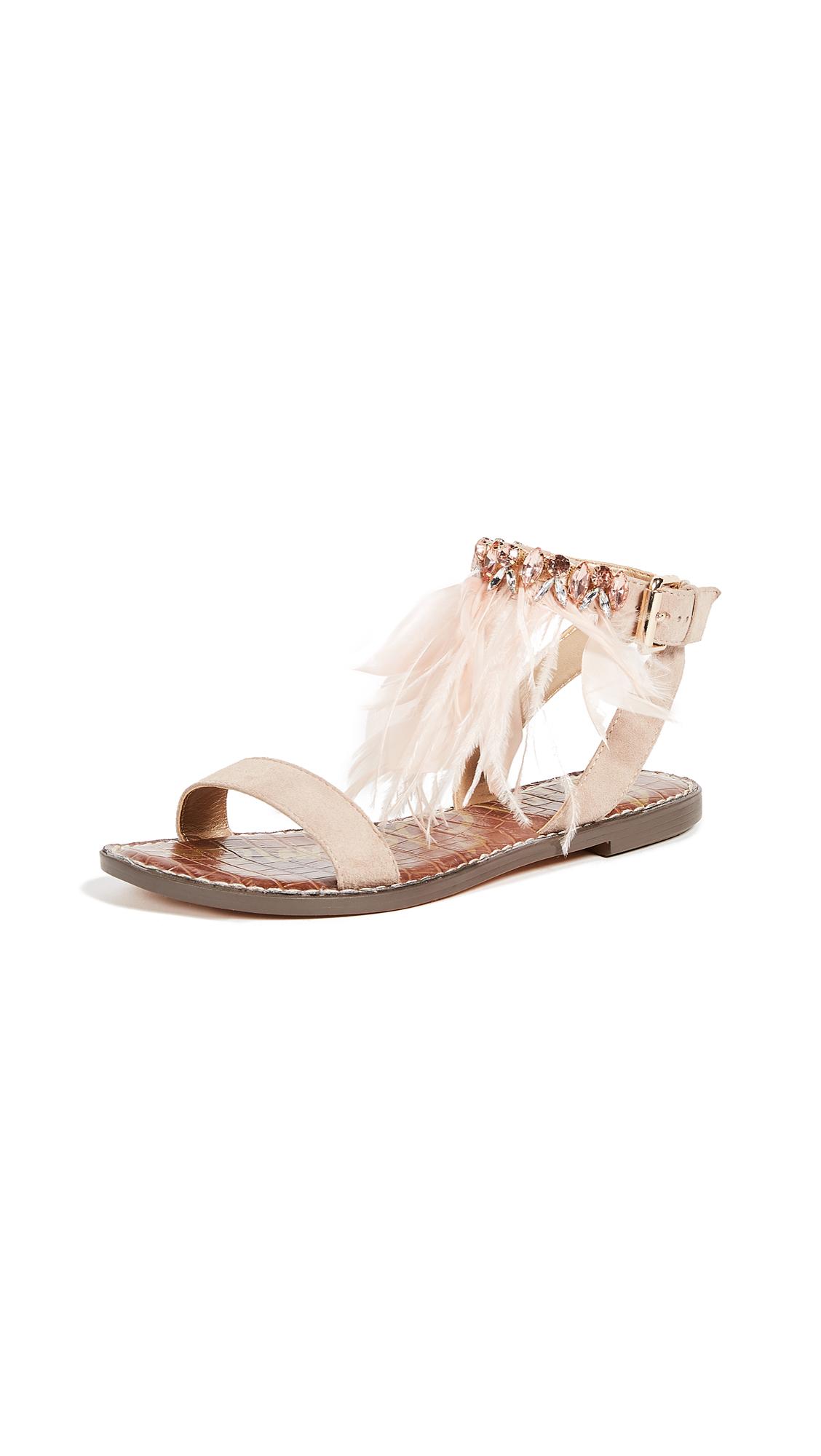 Sam Edelman Genevia Sandals In Taupe Rose