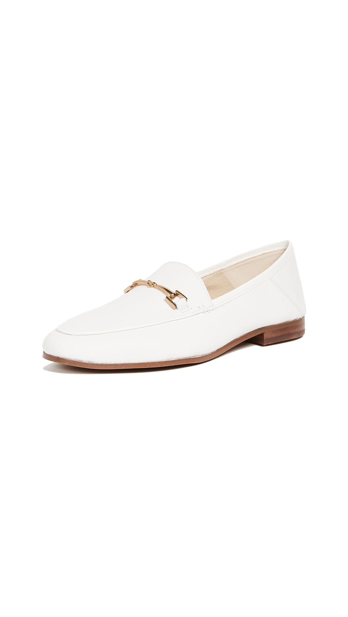 Sam Edelman Loraine Loafers - Bright White