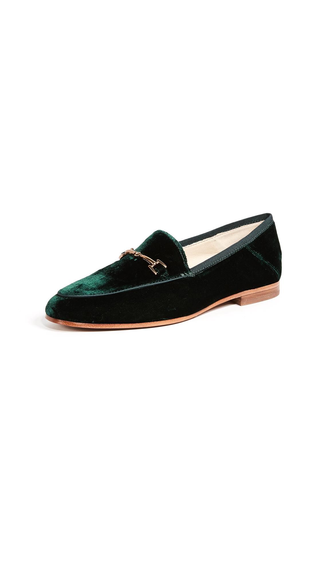 Sam Edelman Loraine Loafers - Emerald Green
