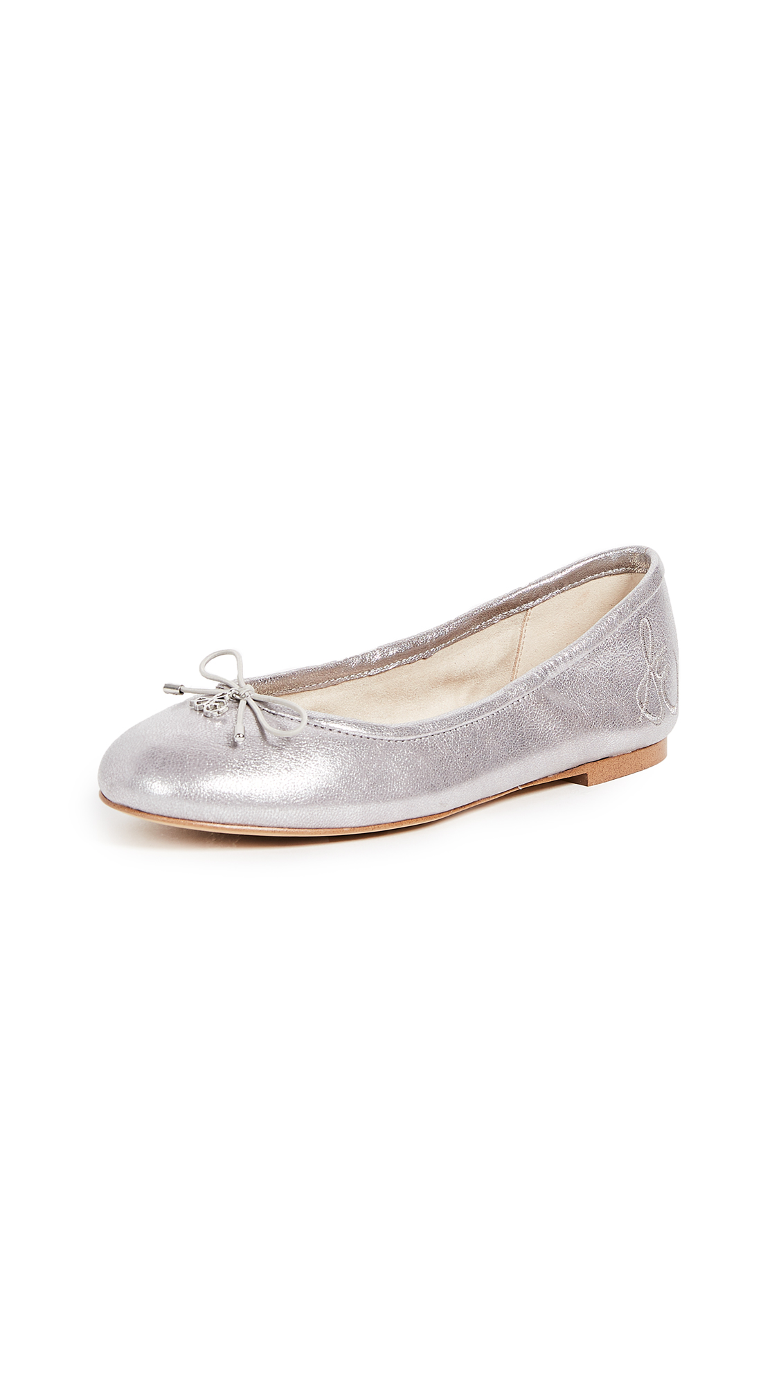 Sam Edelman Felicia Ballet Flats - Light Pewter