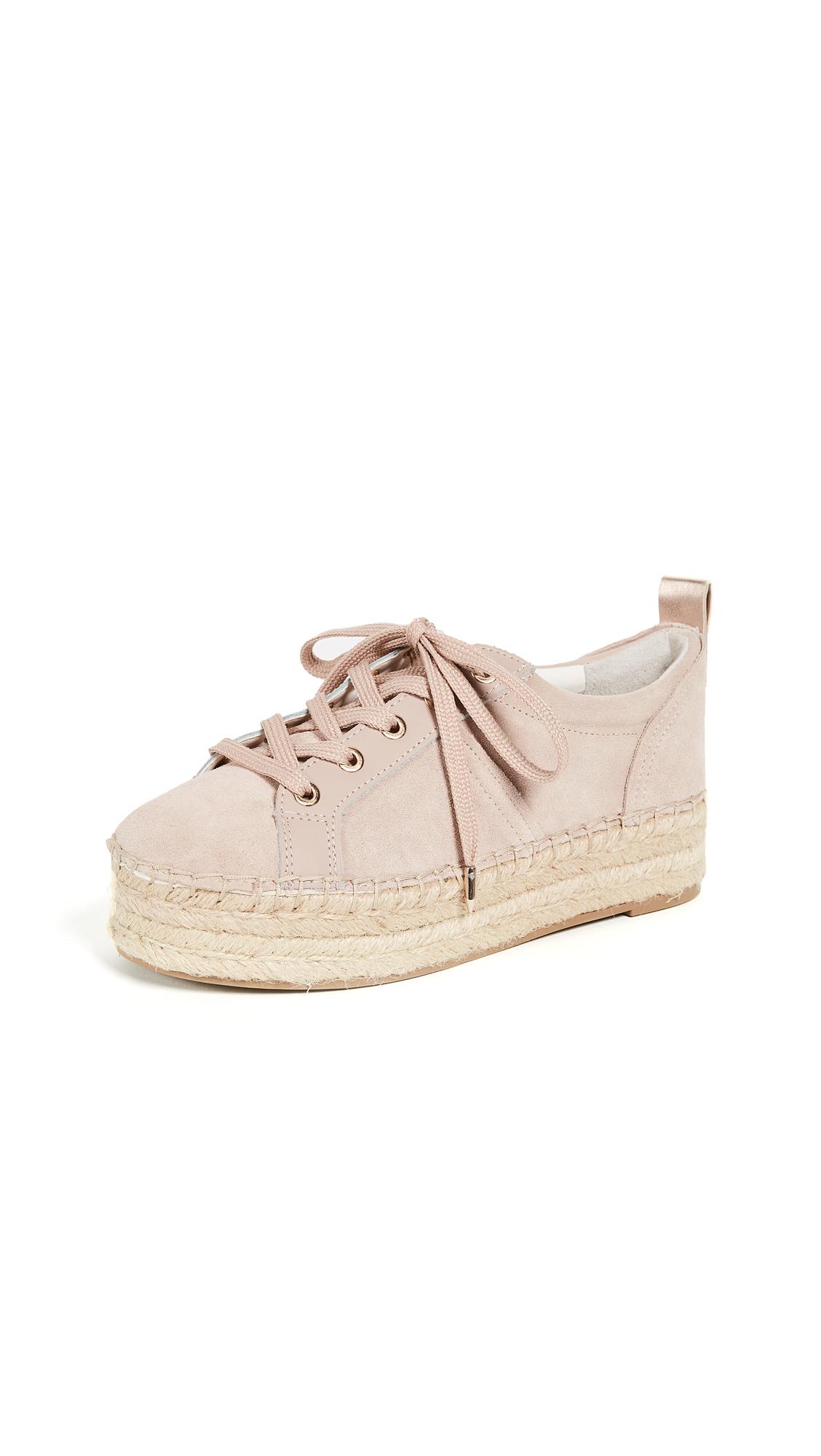 Sam Edelman Carleigh Platform Espadrille Sneakers - Blush
