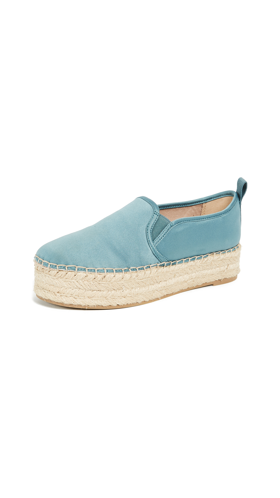 Sam Edelman Carrin Platform Espadrilles - Blue Shadow