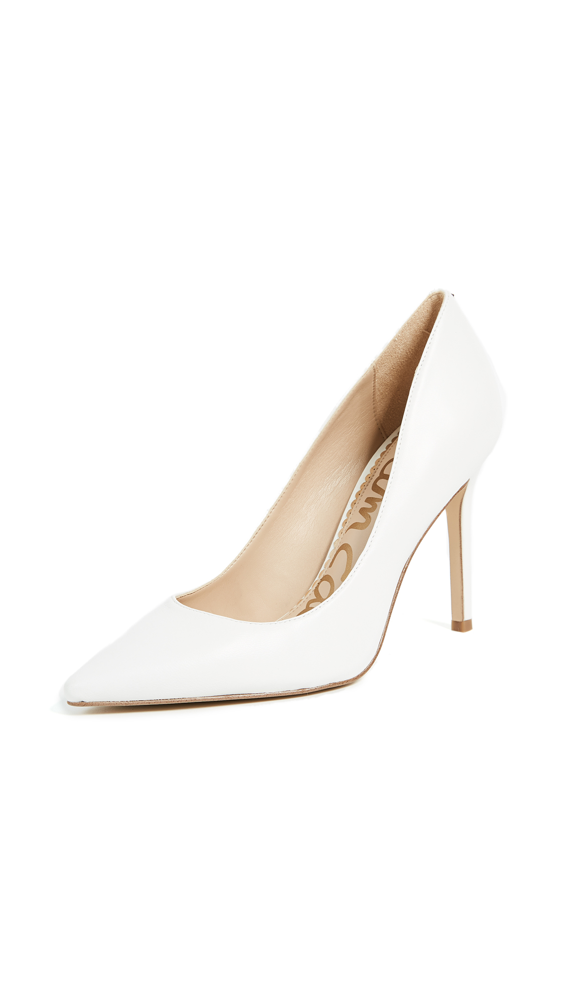 Sam Edelman Hazel Pumps - Bright White