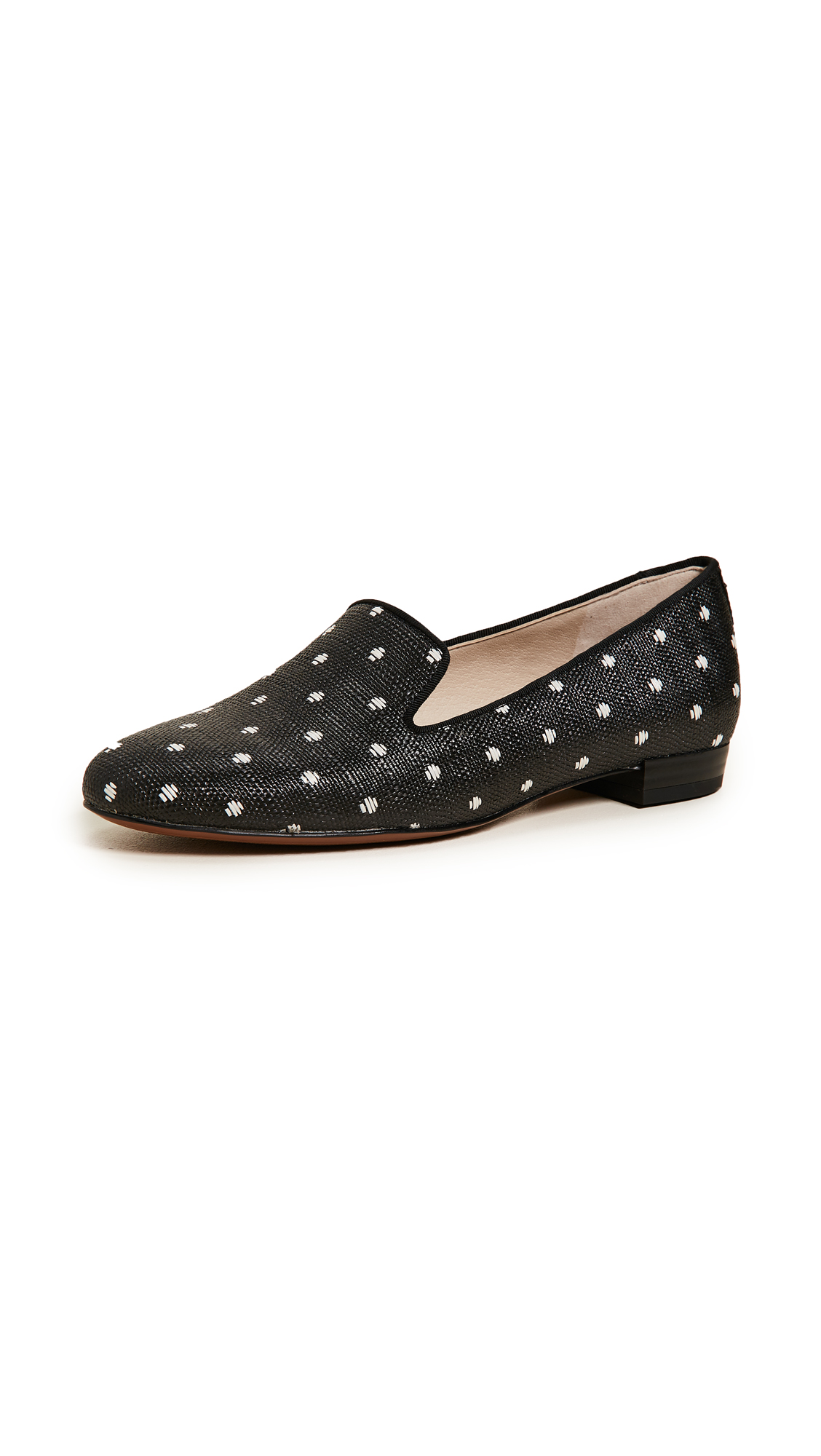 Sam Edelman Jordy Loafers - Black/White