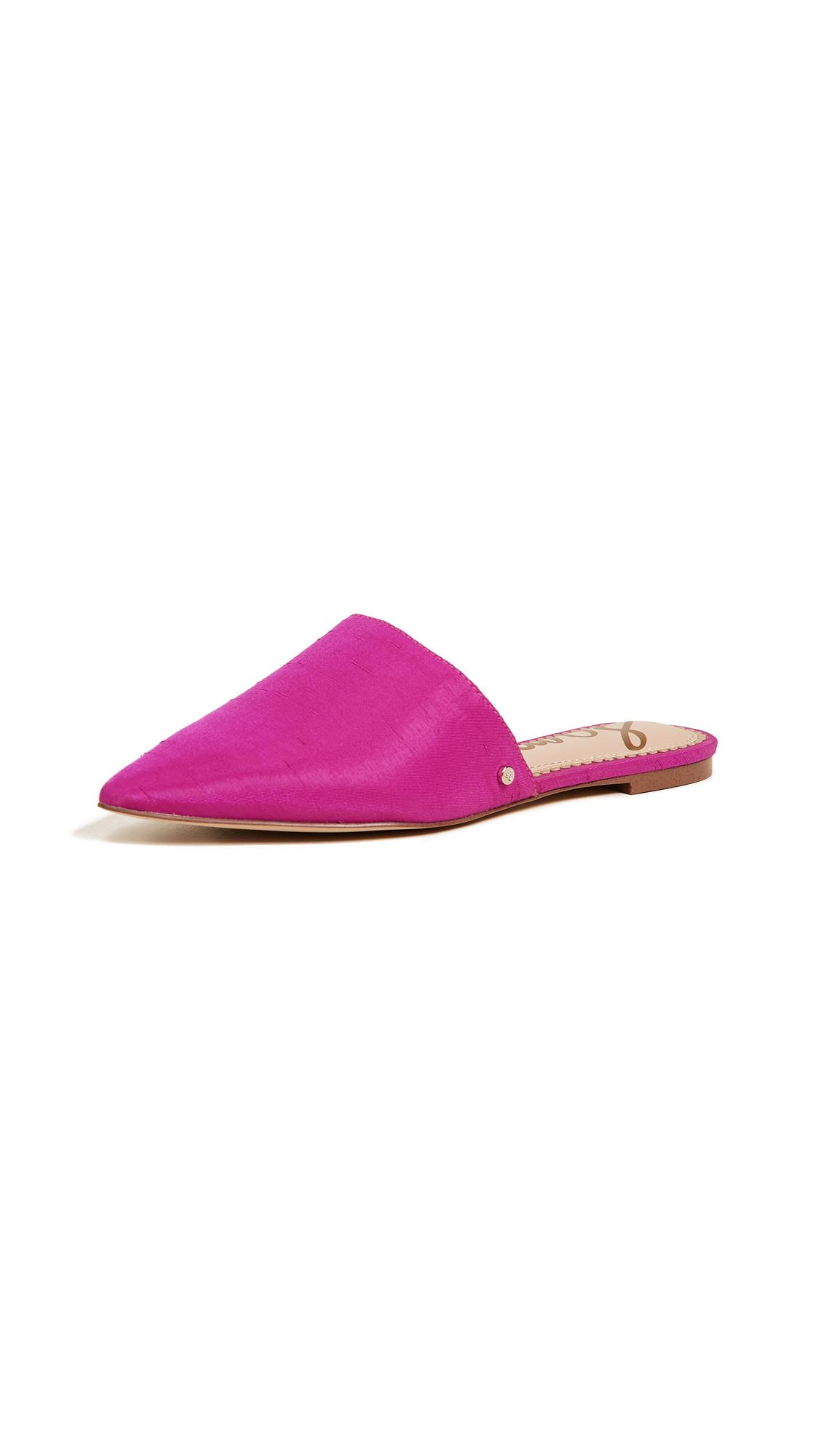 Sam Edelman Rumi Mules - Pink Magenta