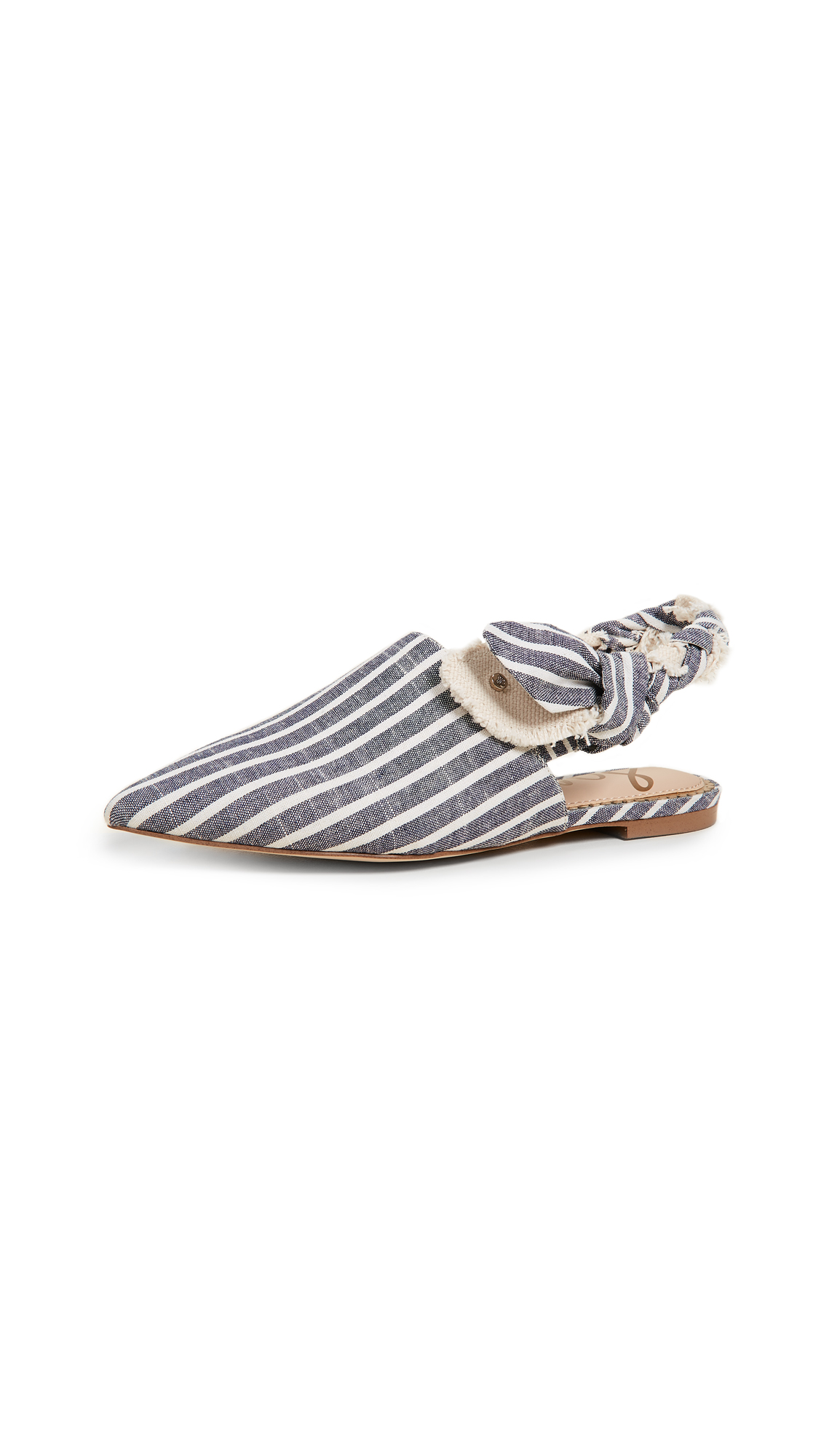 Sam Edelman Rivers Flats - Sea Blue Multi/Ivory