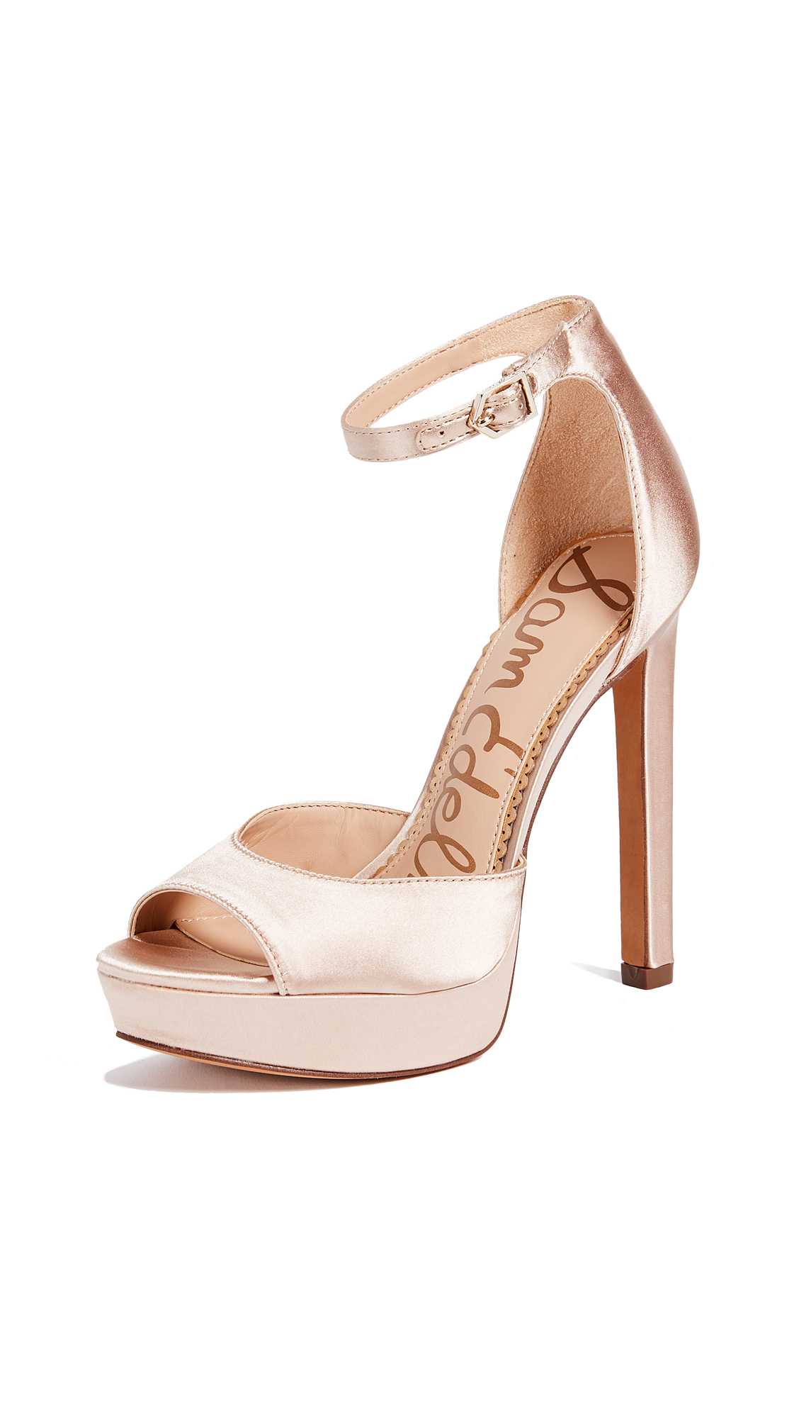 Sam Edelman Wallace Sandals - Champagne