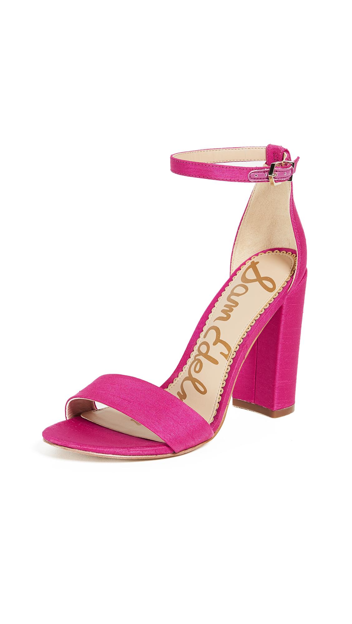 Sam Edelman Yaro Sandals - Pink Magenta