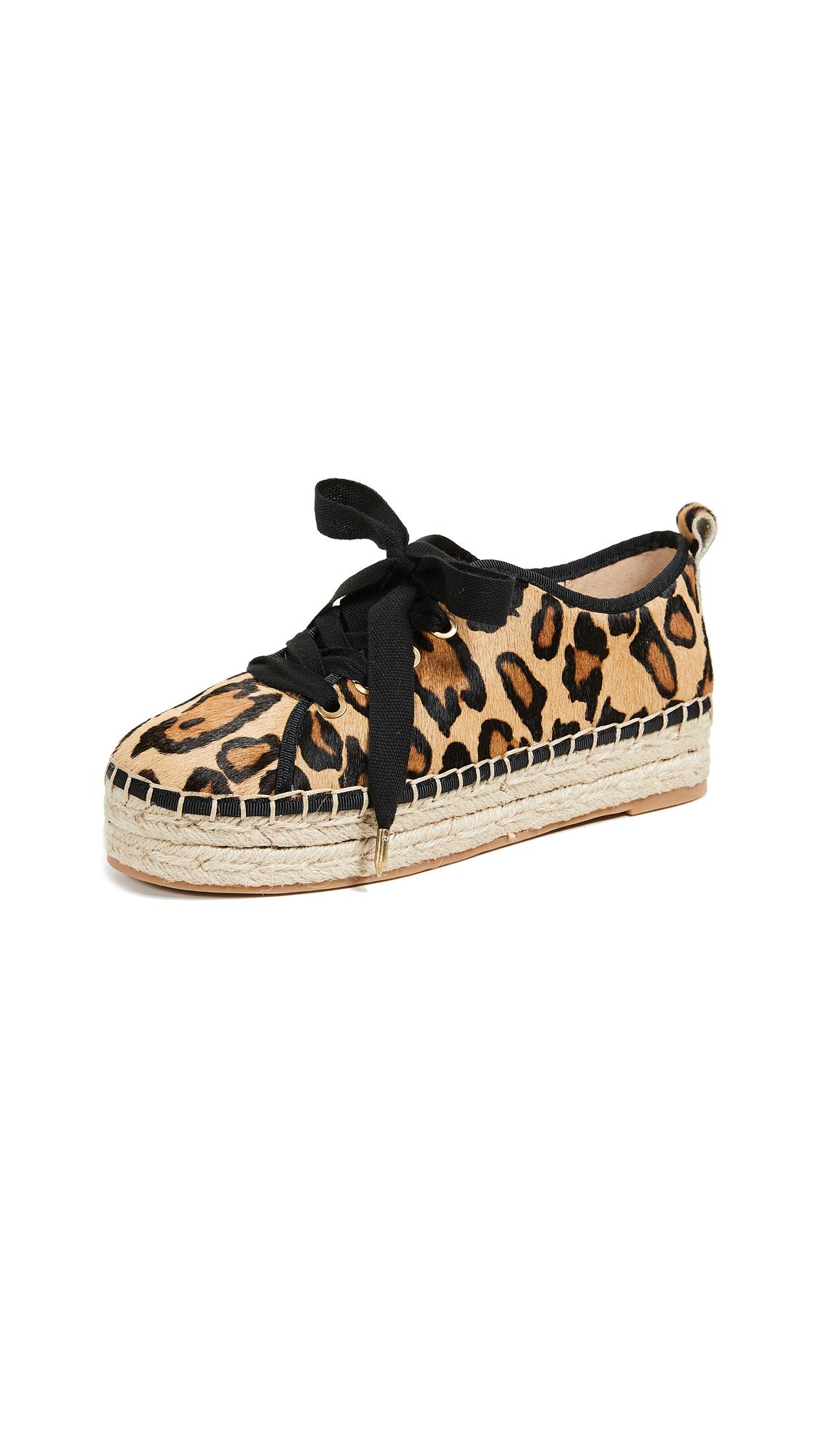 ece1397c199430 Sam Edelman Celina Espadrille Sneakers In New Nude Leopard ...