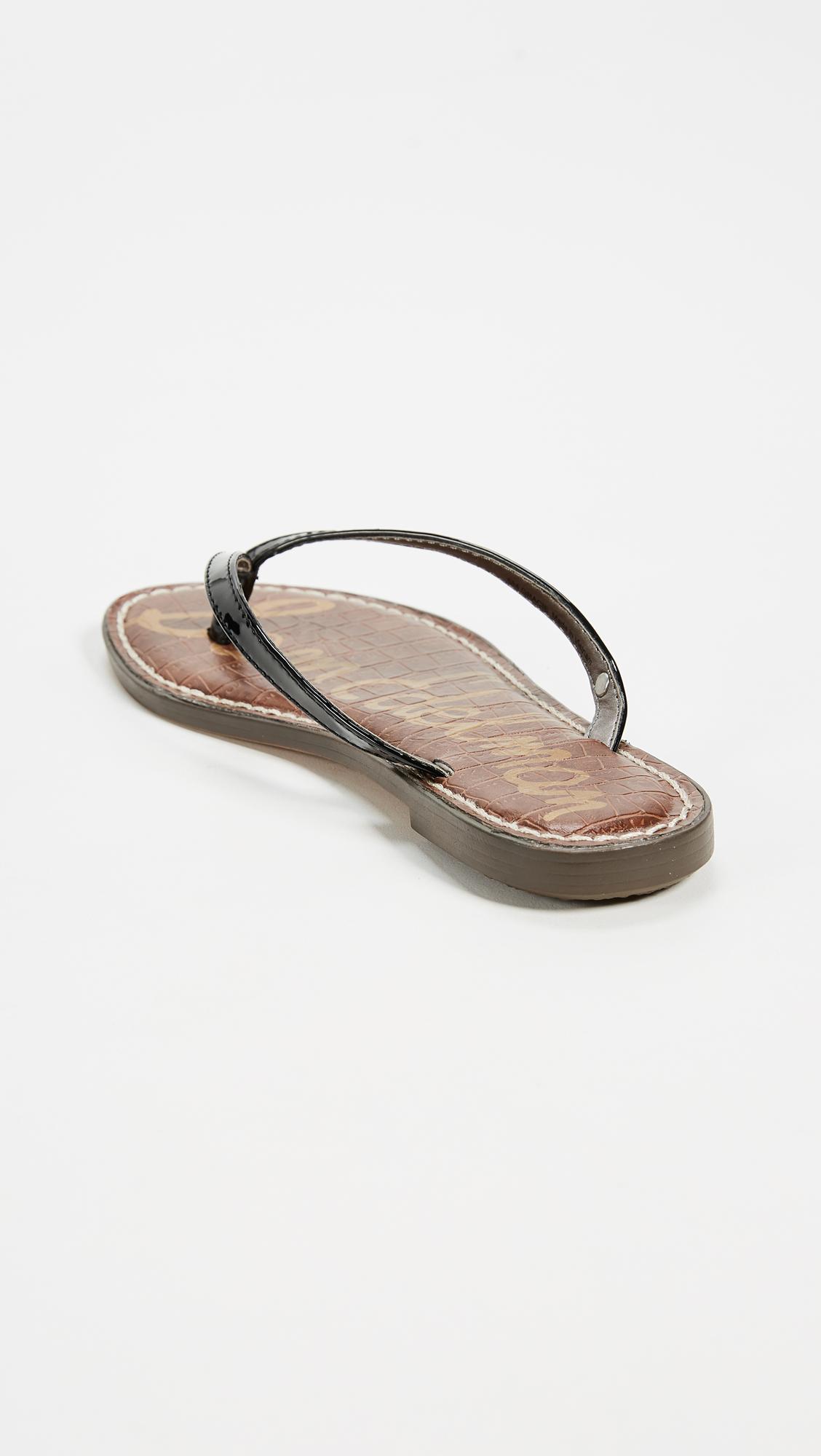83055b3ea7304 Sam Edelman Gracie Thong Sandals