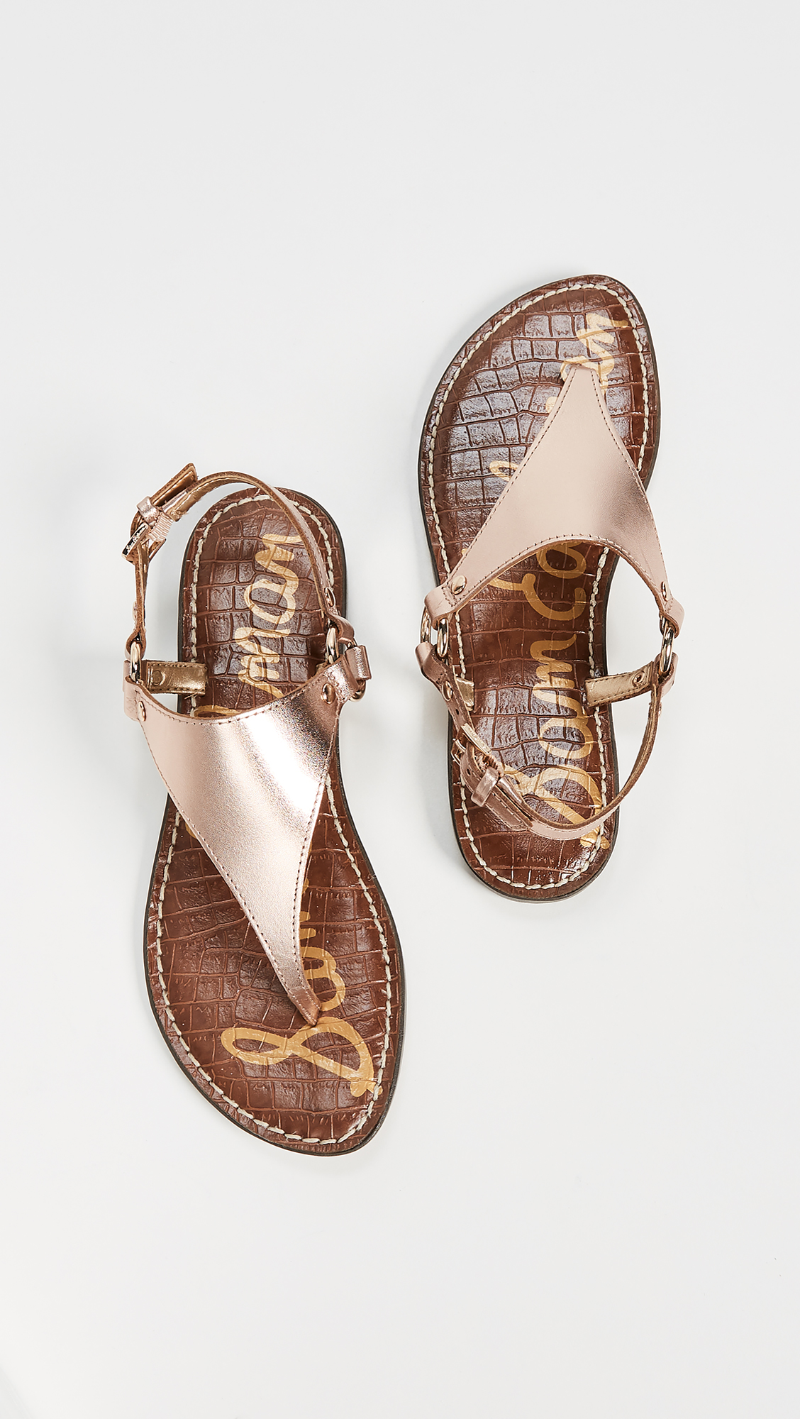 847c159b28e3 Sam Edelman Greta Flat Sandals