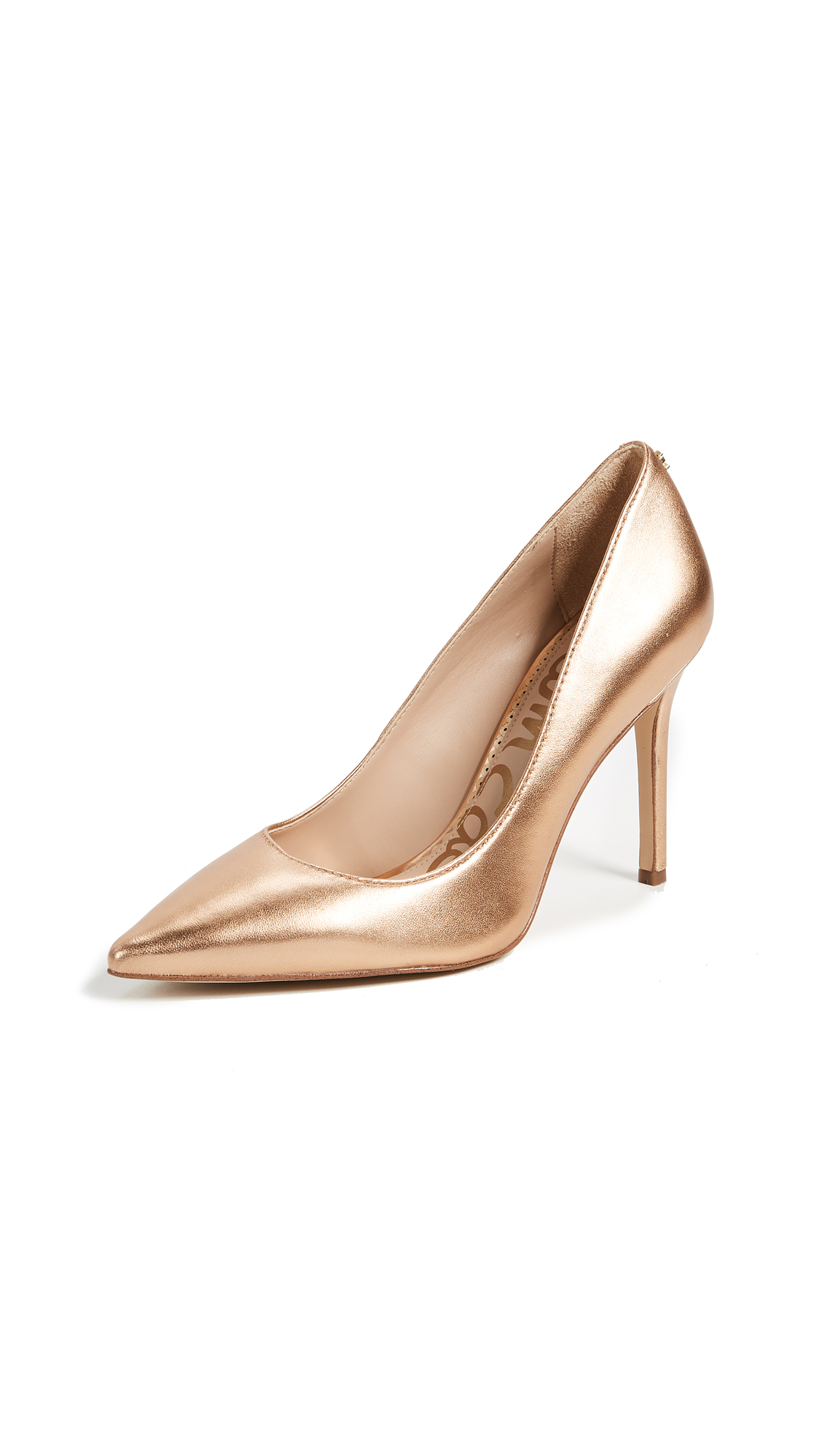 Sam Edelman Hazel Pumps - Golden Copper