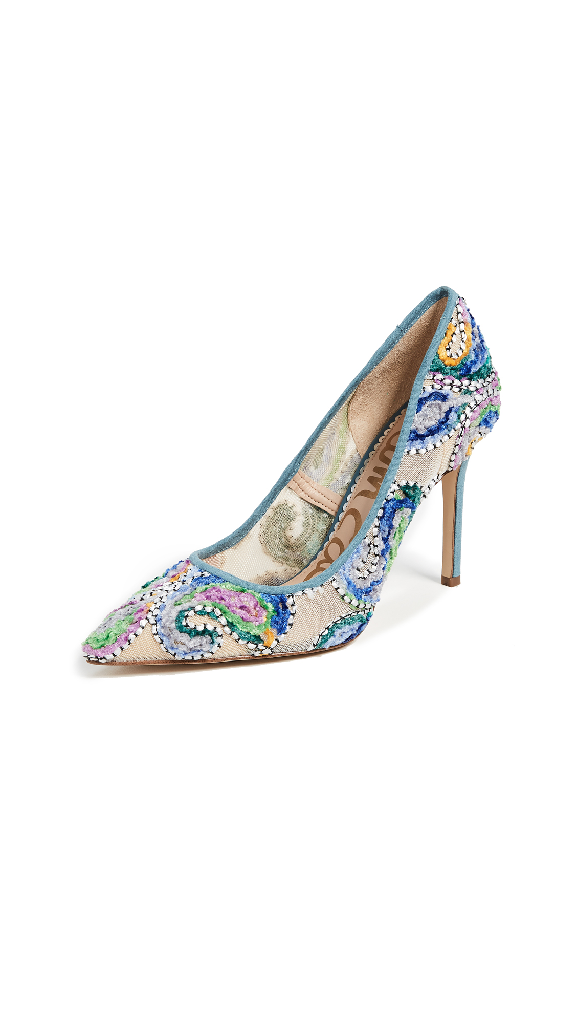 Sam Edelman Hazel Pumps - Blue Multi