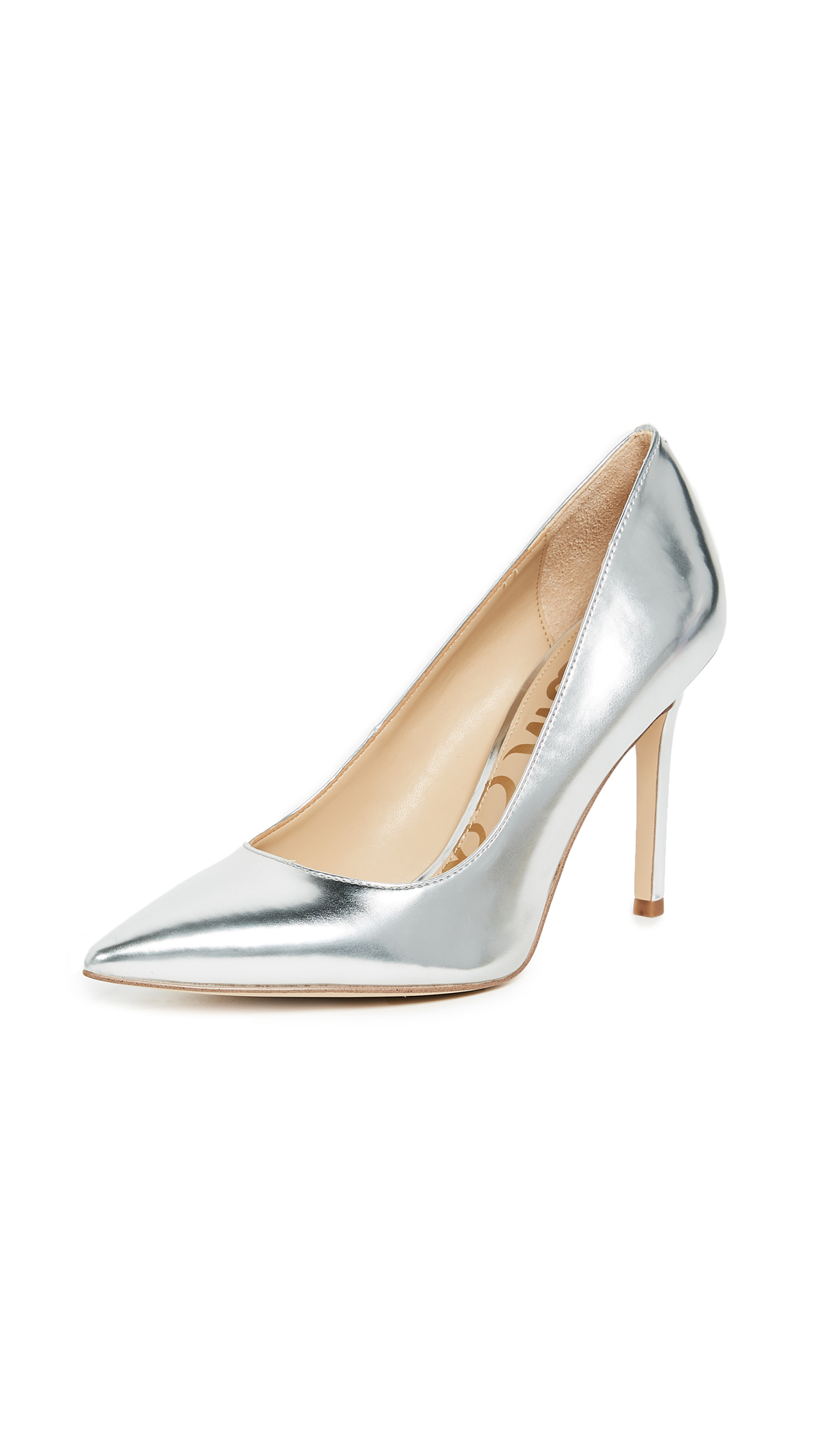 Sam Edelman Hazel Pumps - Soft Silver