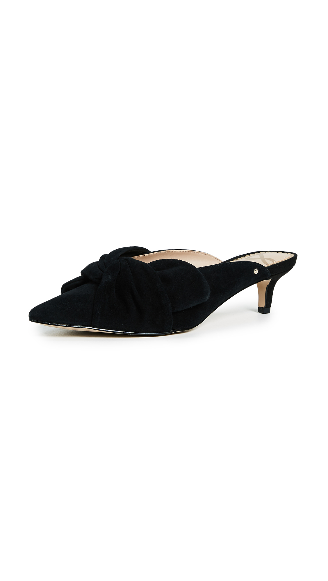 Sam Edelman Laney Bow Mules - Black