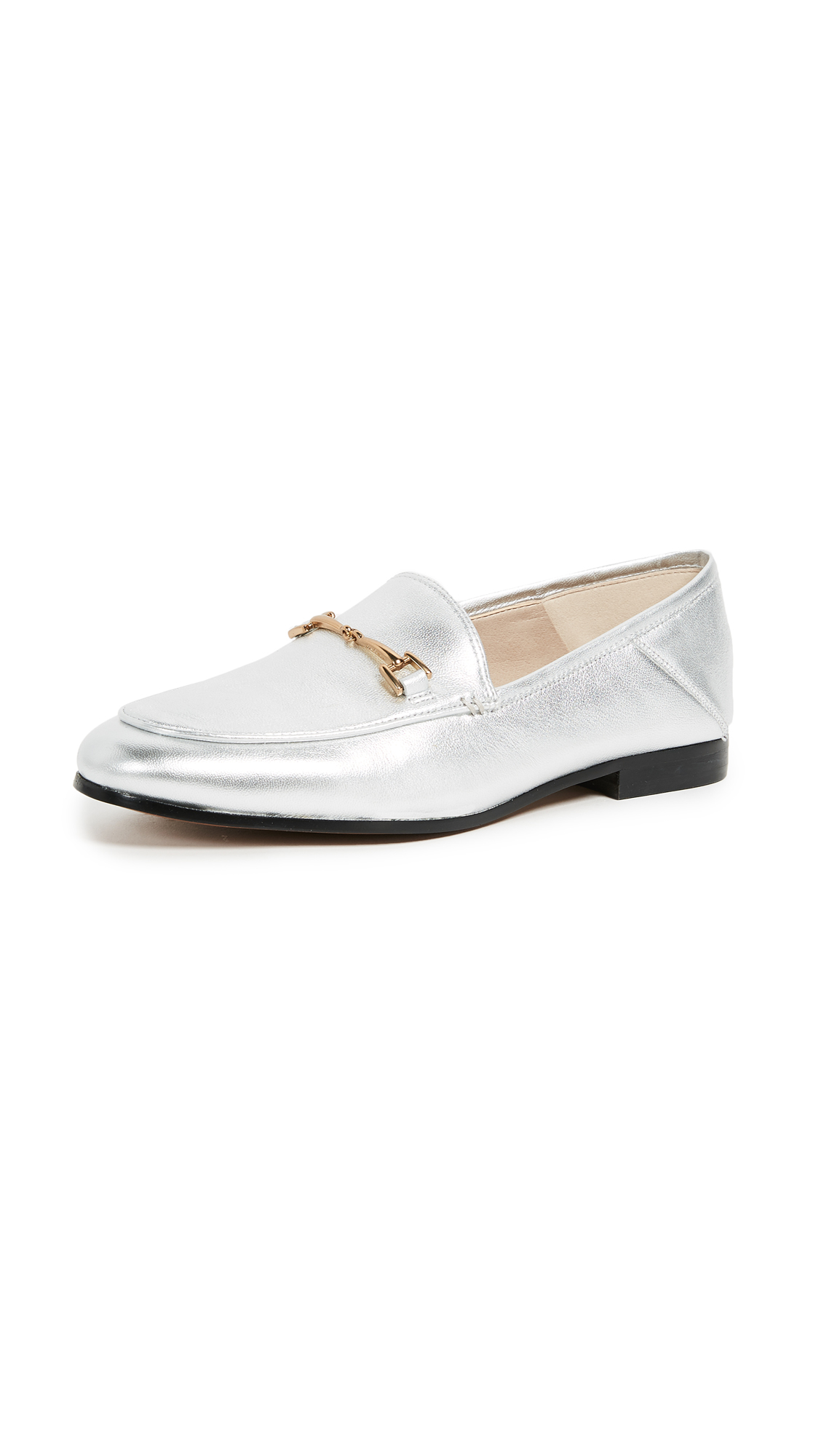 Sam Edelman Loraine Loafers - Silver