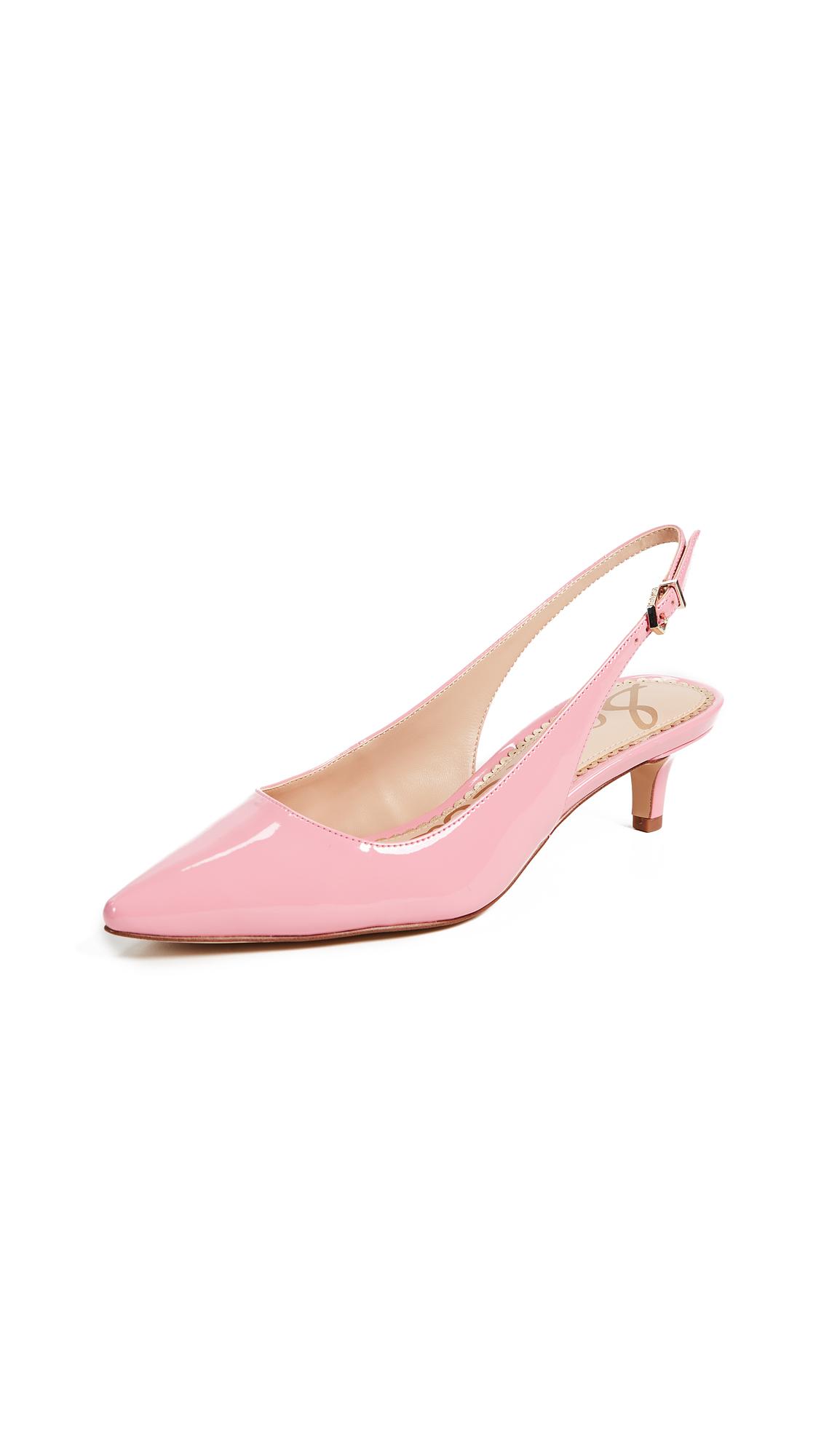 Sam Edelman Ludlow Slingback Pumps - Pink Lemonade
