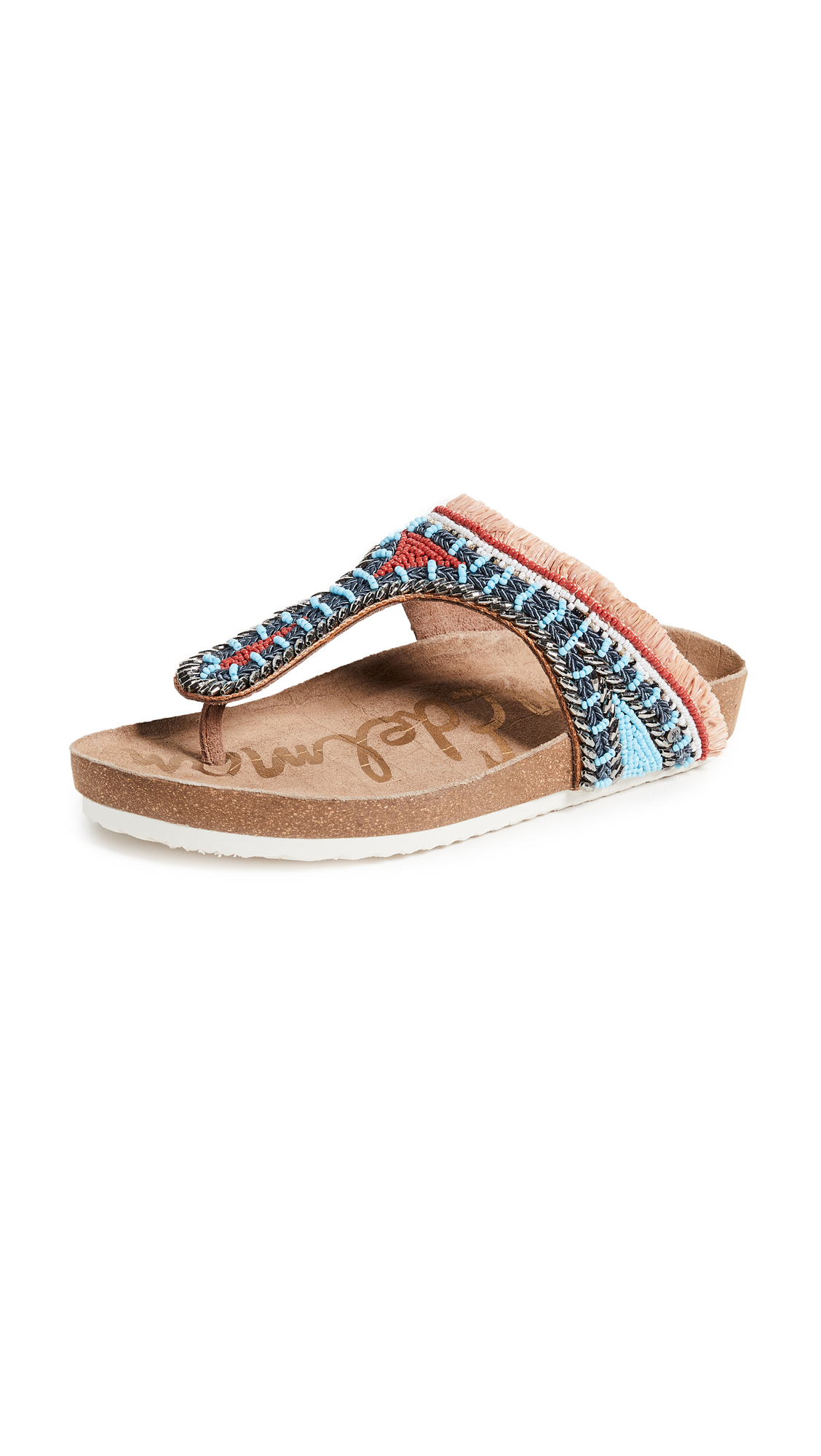 Sam Edelman Olivie 2 Sandals - Saddle/Orange Multi