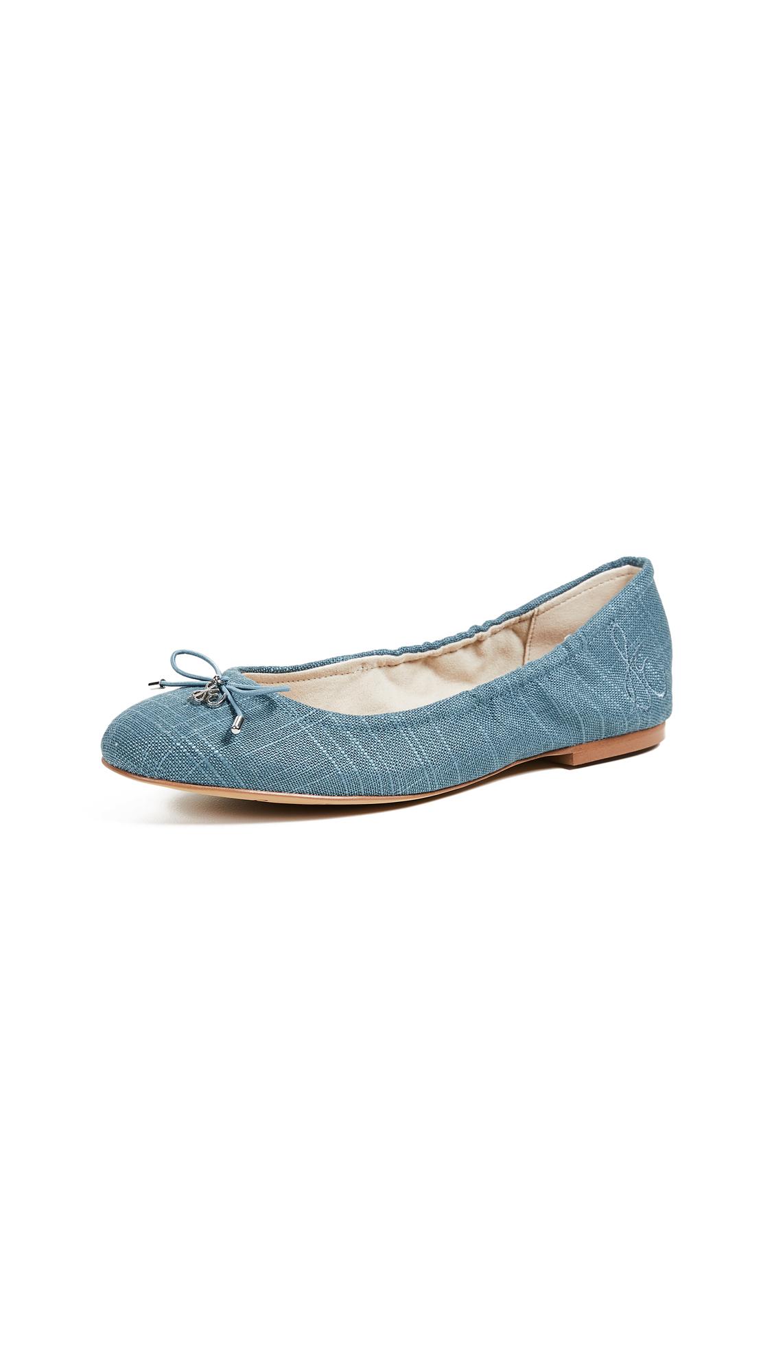 Sam Edelman Felicia Ballet Flats - Denim Blue