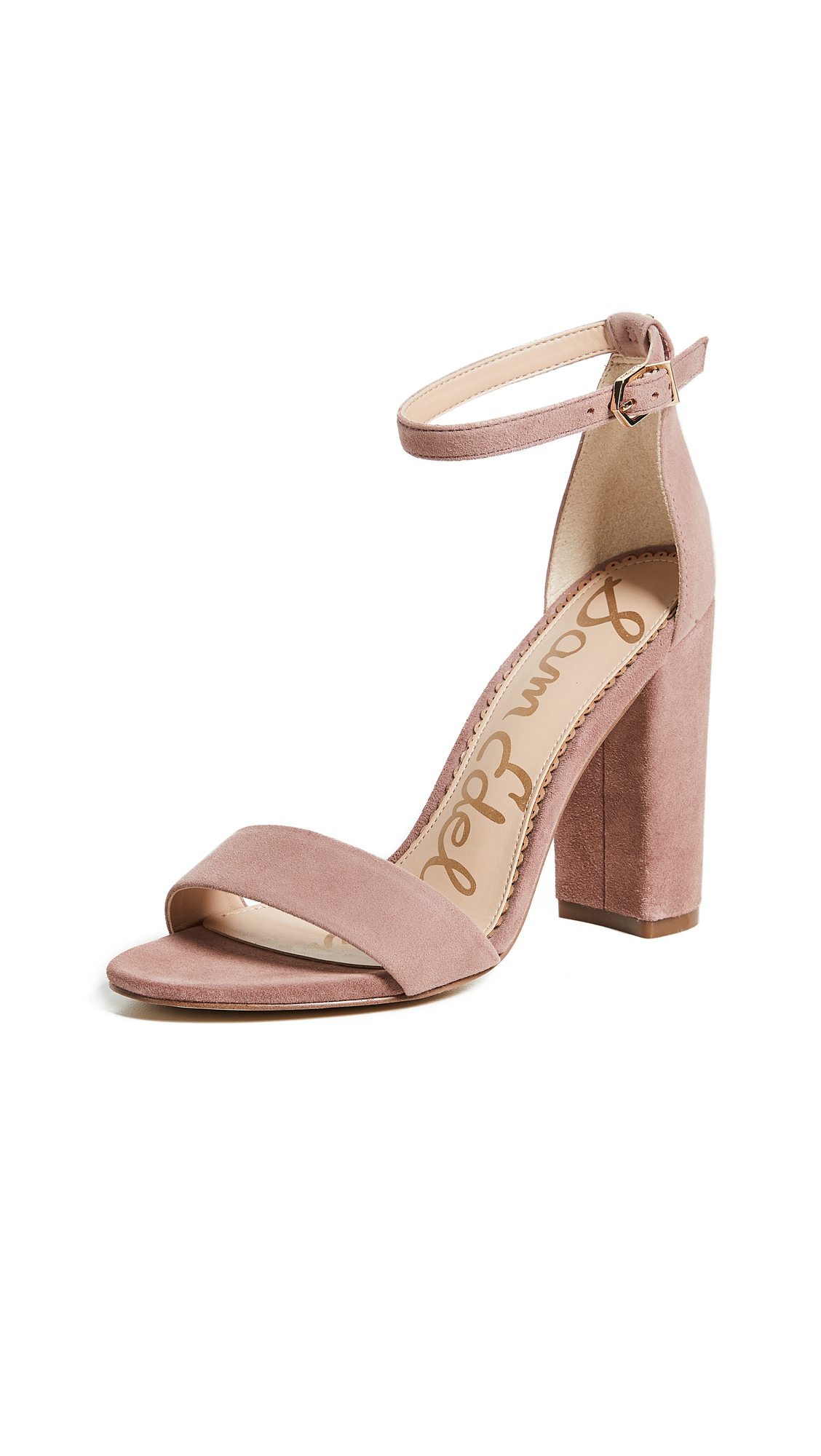 Sam Edelman Yaro Sandals - Dusty Rose