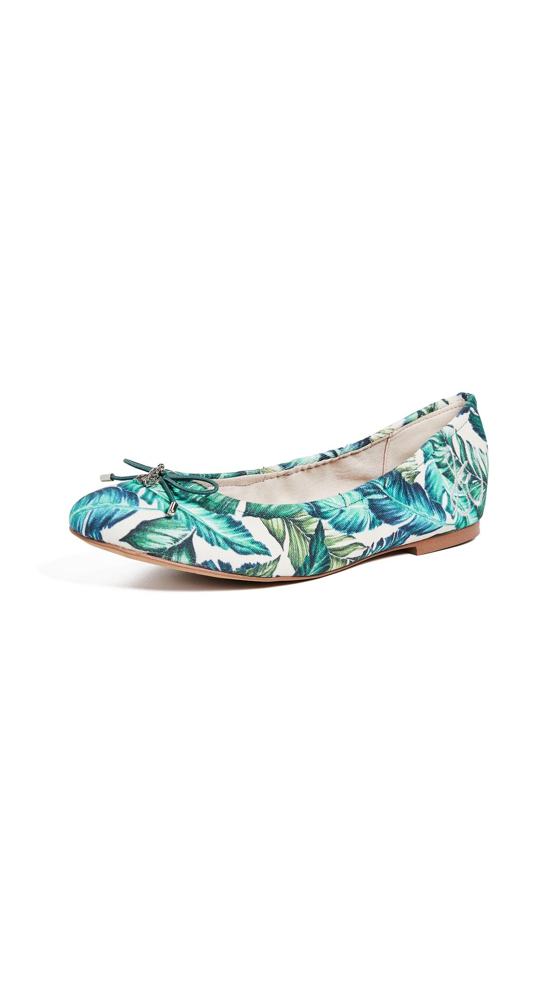 Sam Edelman Felicia Ballet Flats - Jade Multi