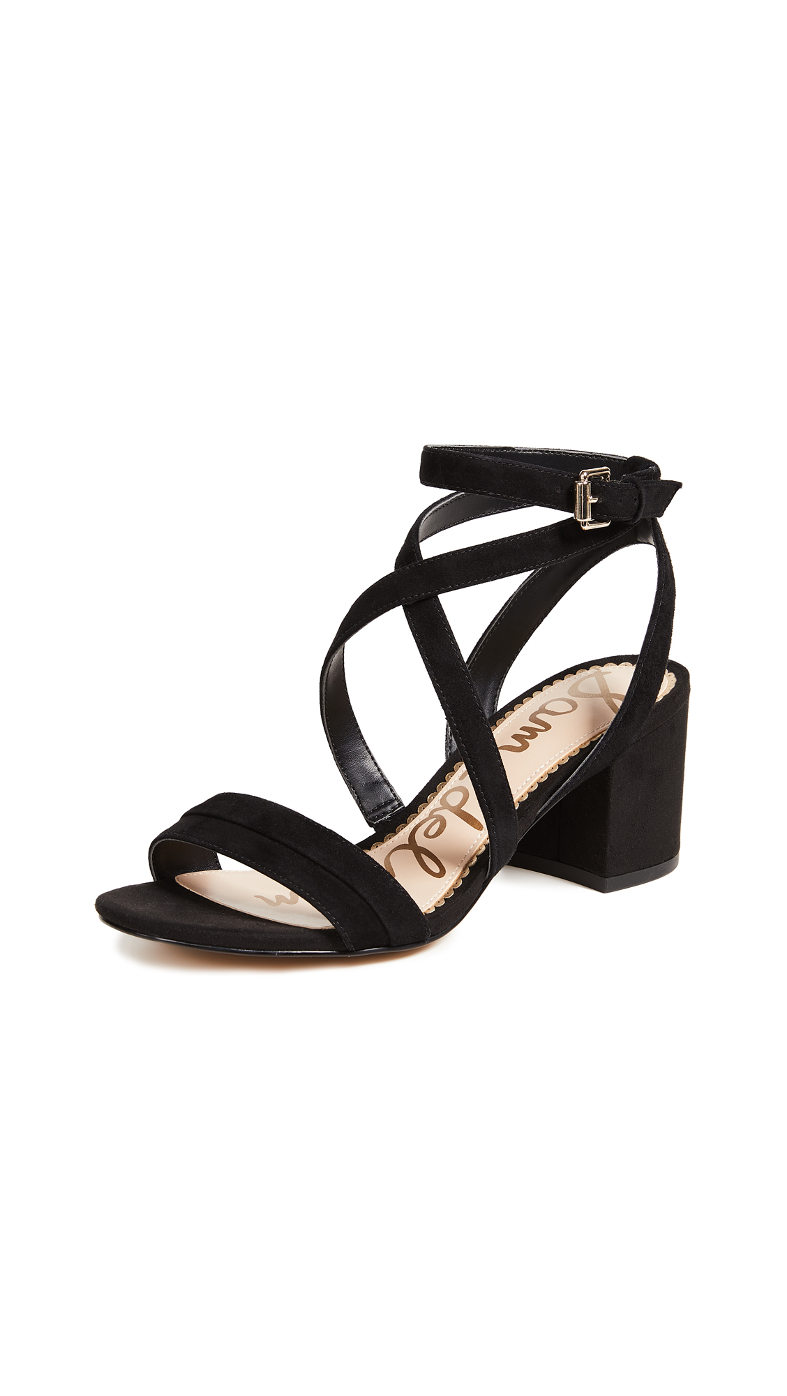 Sam Edelman Sammy Sandals In Black