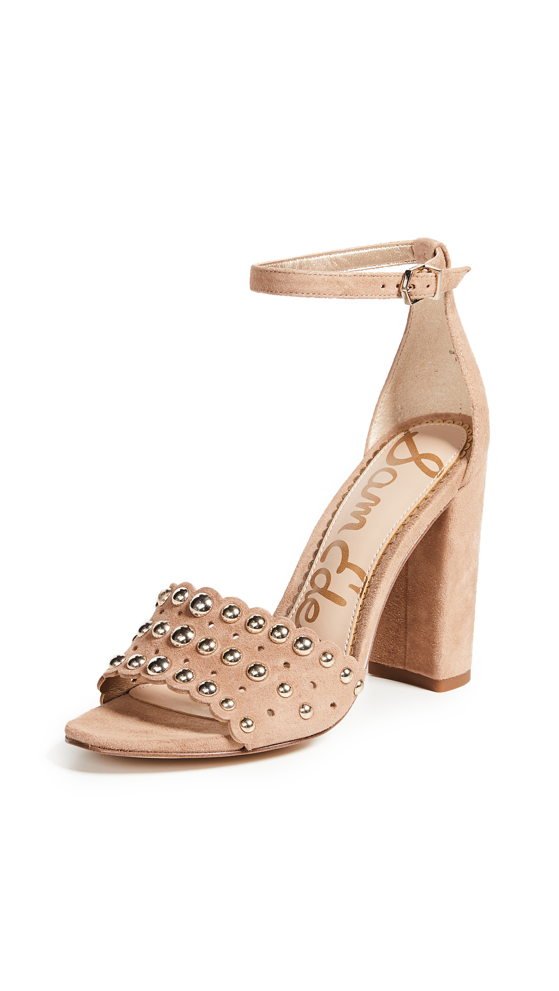 Sam Edelman Yaria Sandals - Golden Caramel