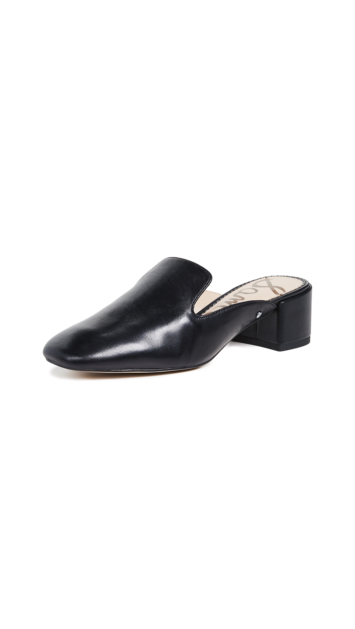 Sam Edelman Adair Mule Loafers - Black