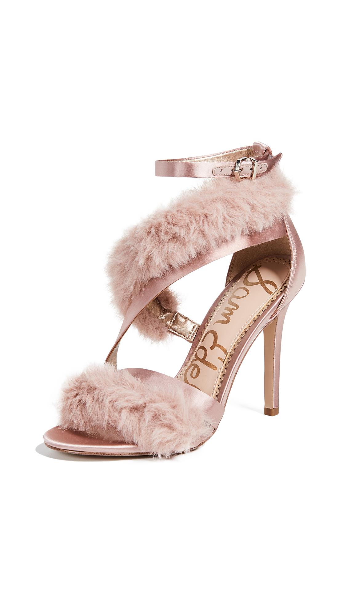 Sam Edelman Adelle Sandals In Crystal Pink