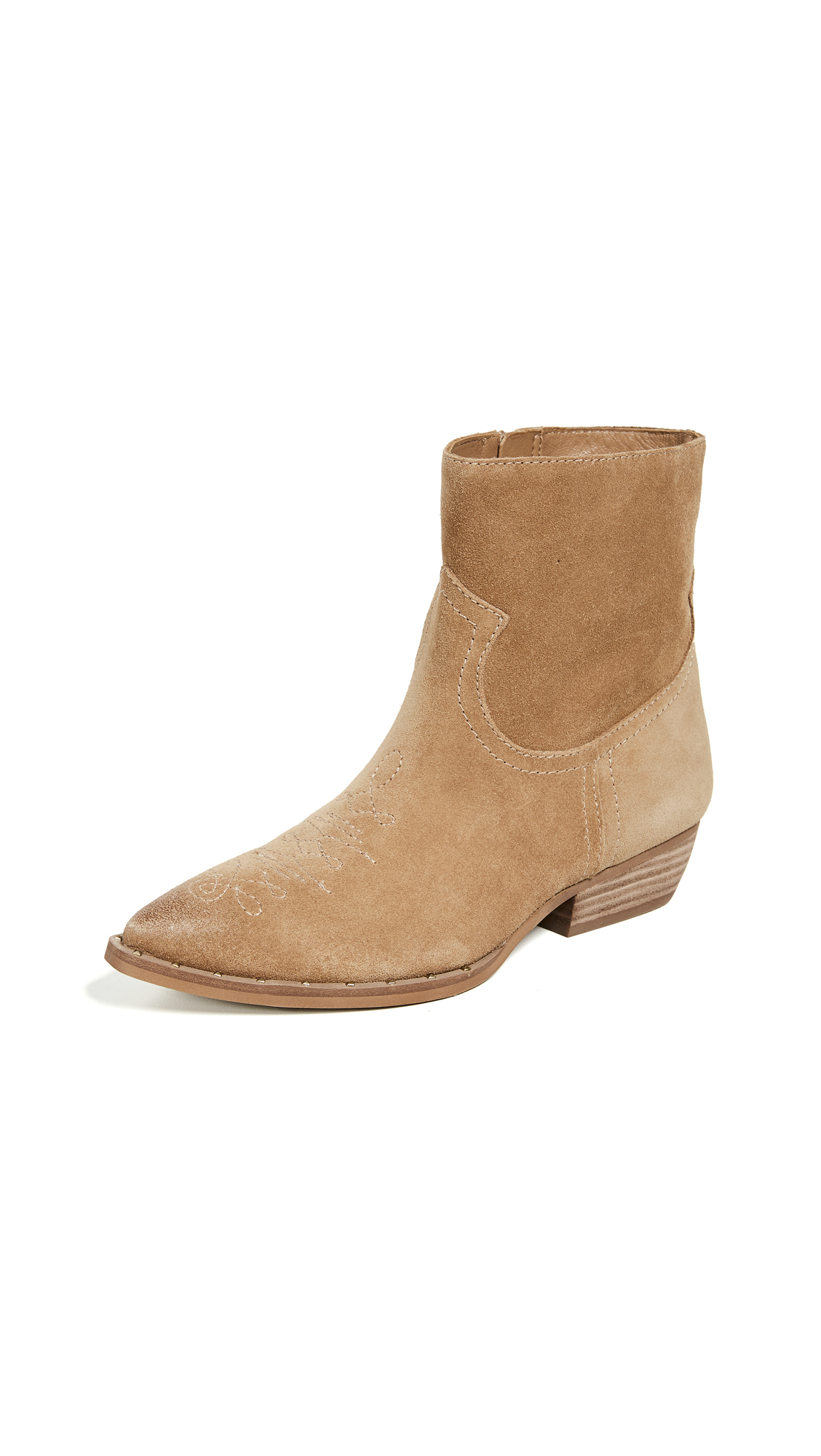 Sam Edelman Ava Booties - Golden Caramel