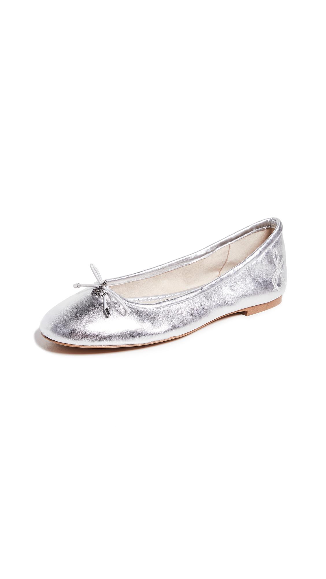 Sam Edelman Felicia Ballet Flats - Soft Silver