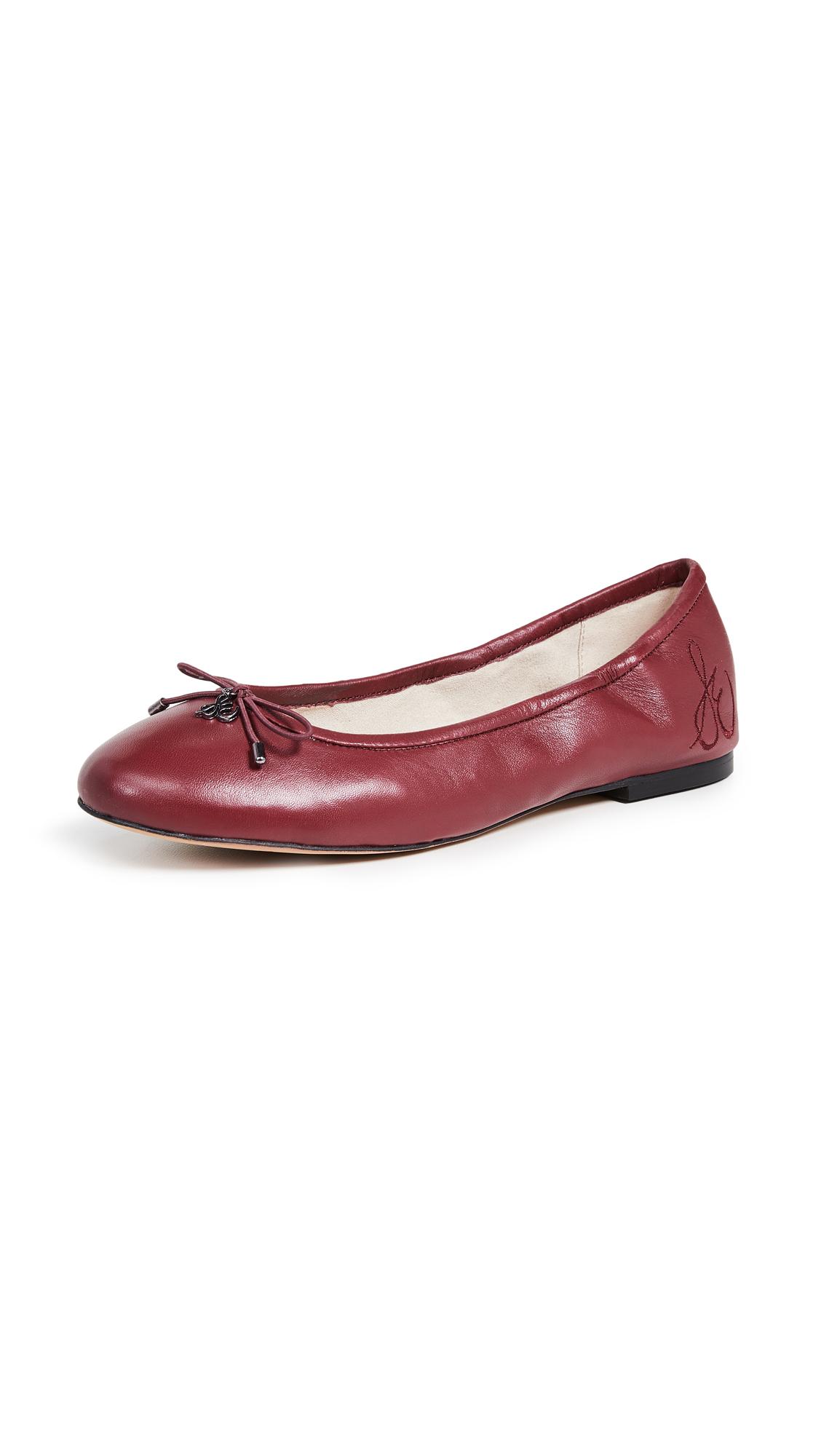 Sam Edelman Felicia Ballet Flats - Beet Red