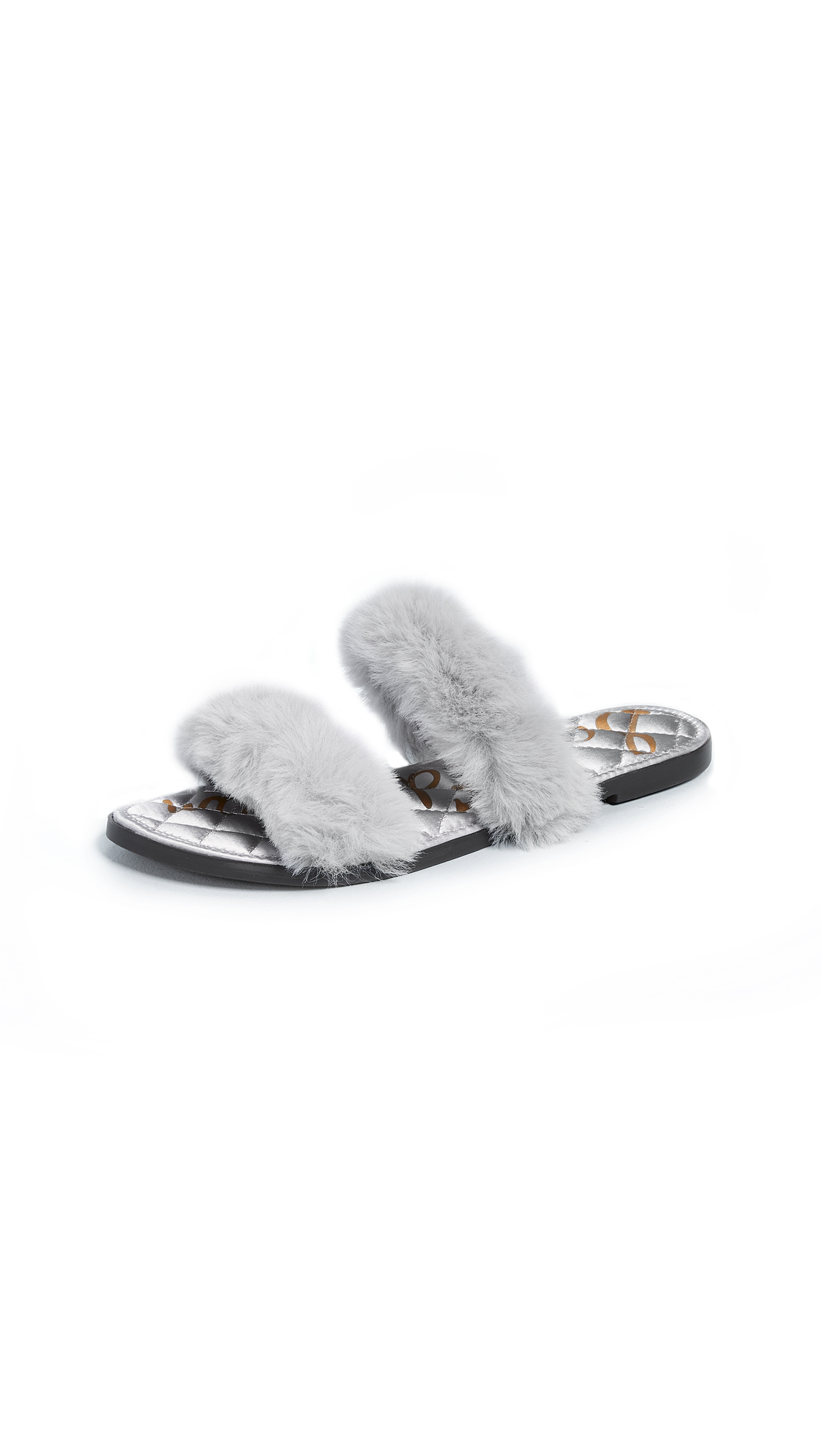 Sam Edelman Griselda Slides - Light Grey
