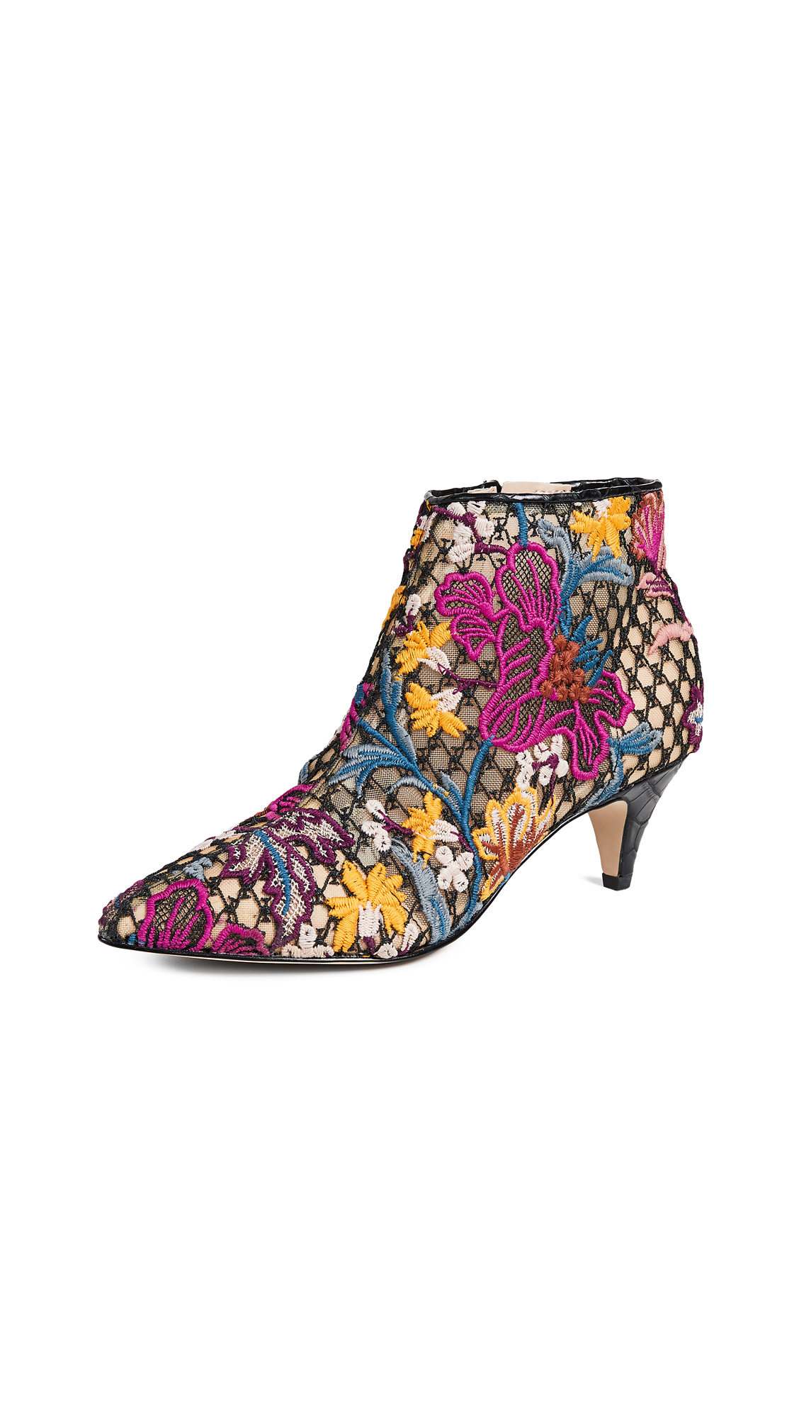 Sam Edelman Kinzey Booties - Bright Multi