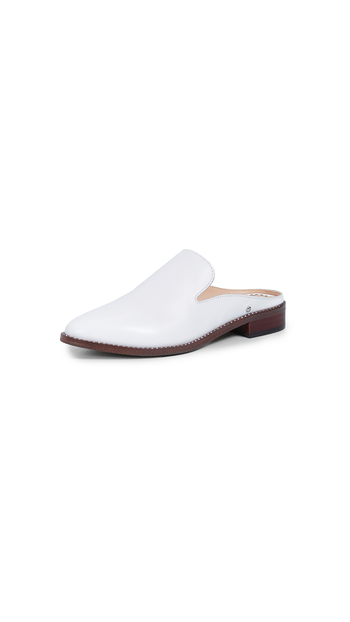 Sam Edelman Laddie Mules - Bright White