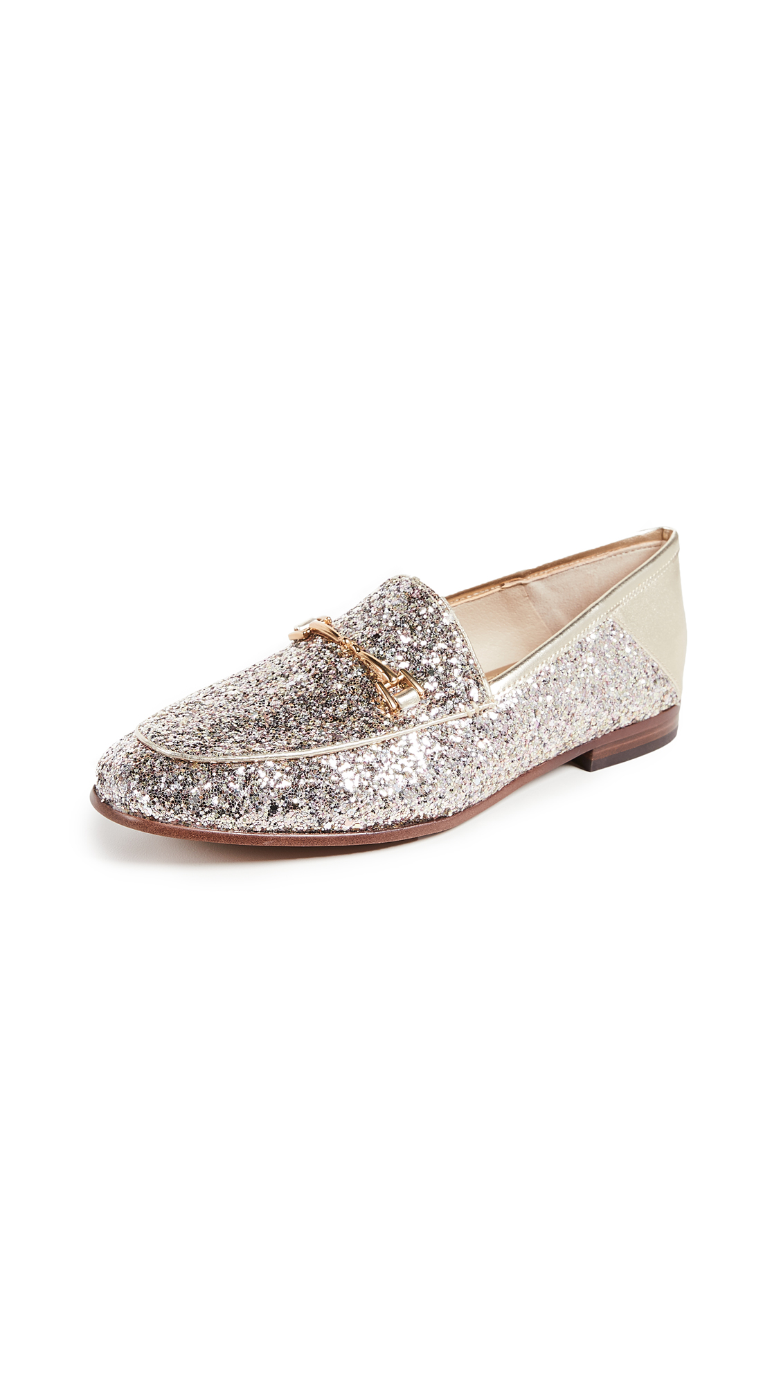 Sam Edelman Loraine Loafers - Molten Gold