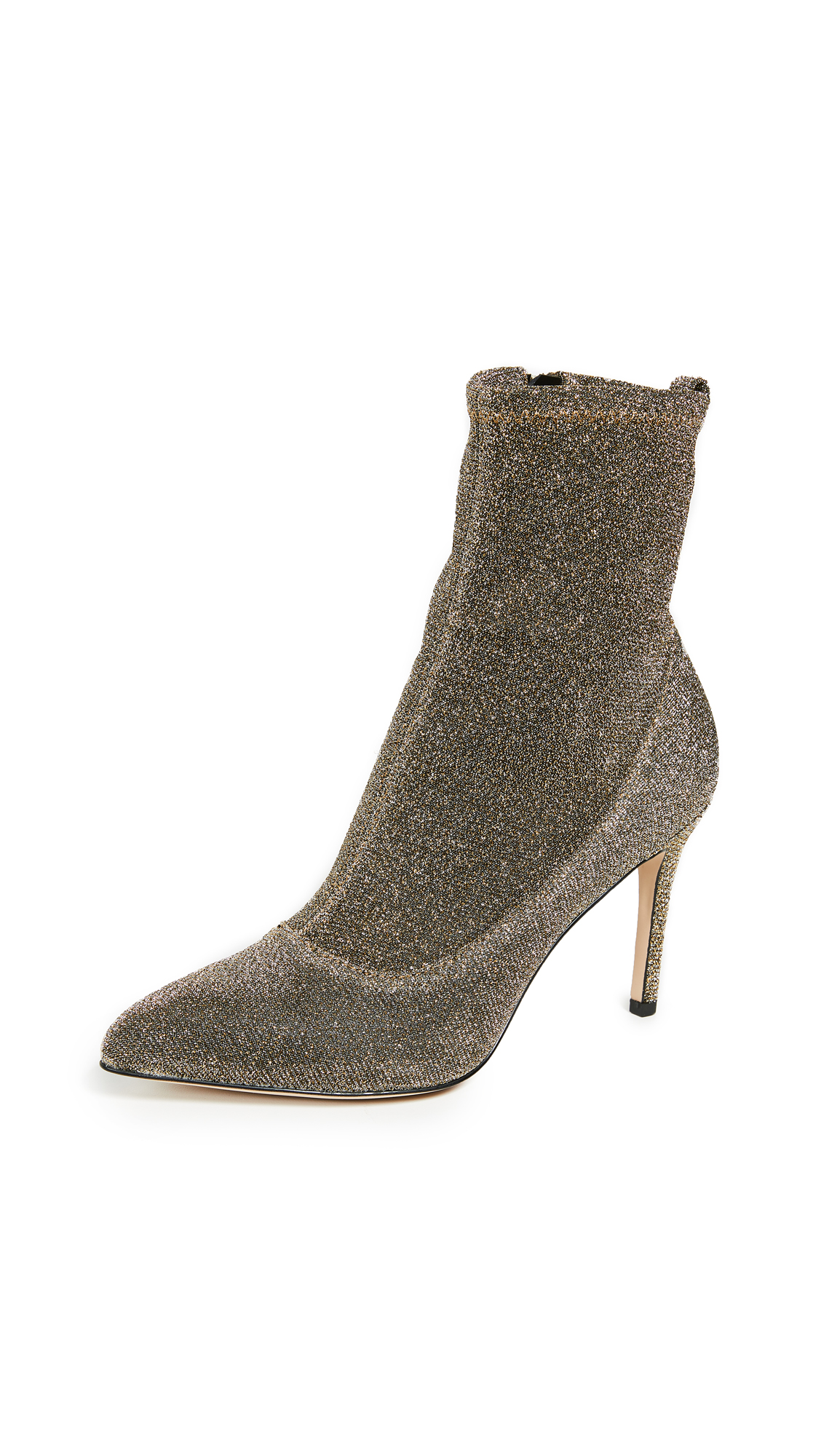 Sam Edelman Olson Sock Booties - Gold Multi
