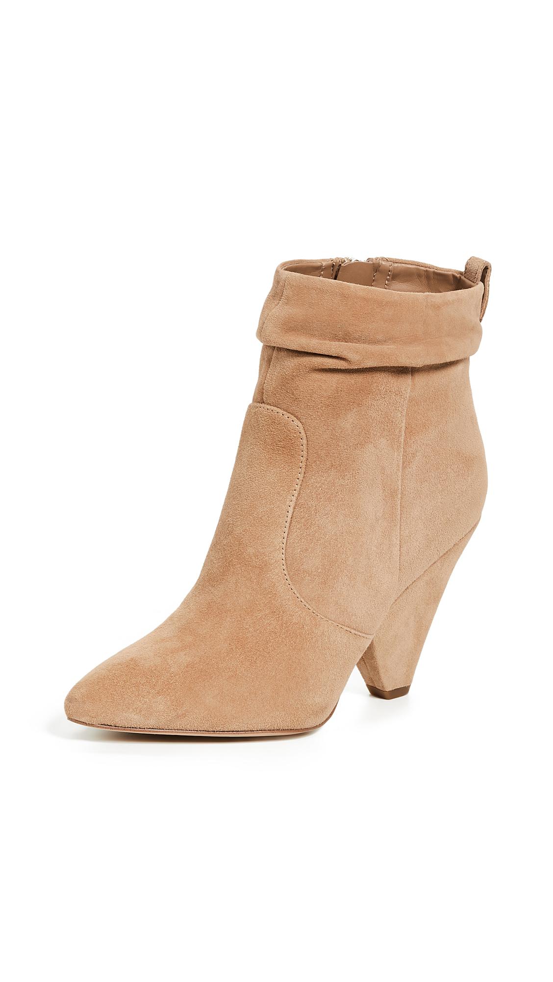 Sam Edelman Roden Slouch Boots - Golden Caramel