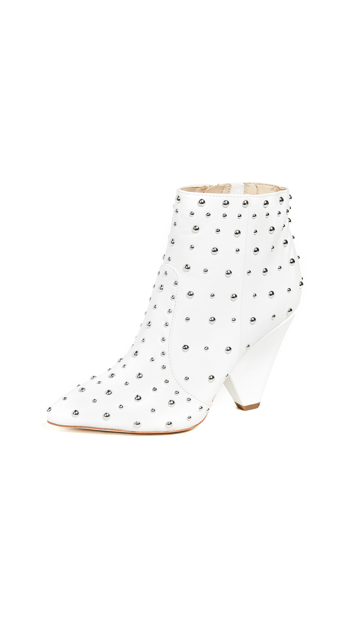 Sam Edelman Roya Booties - Bright White