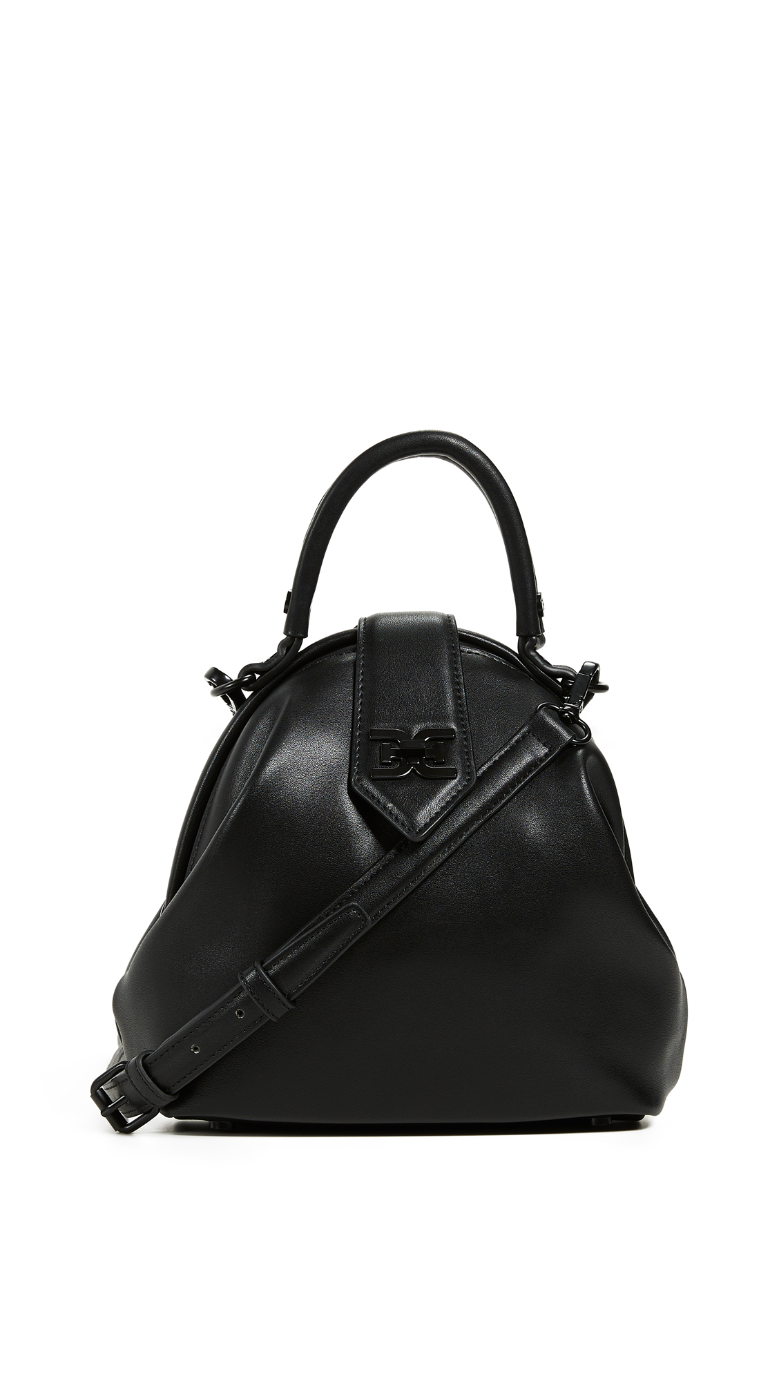 Sam Edelman Teegan Mini Frame Bag In Black