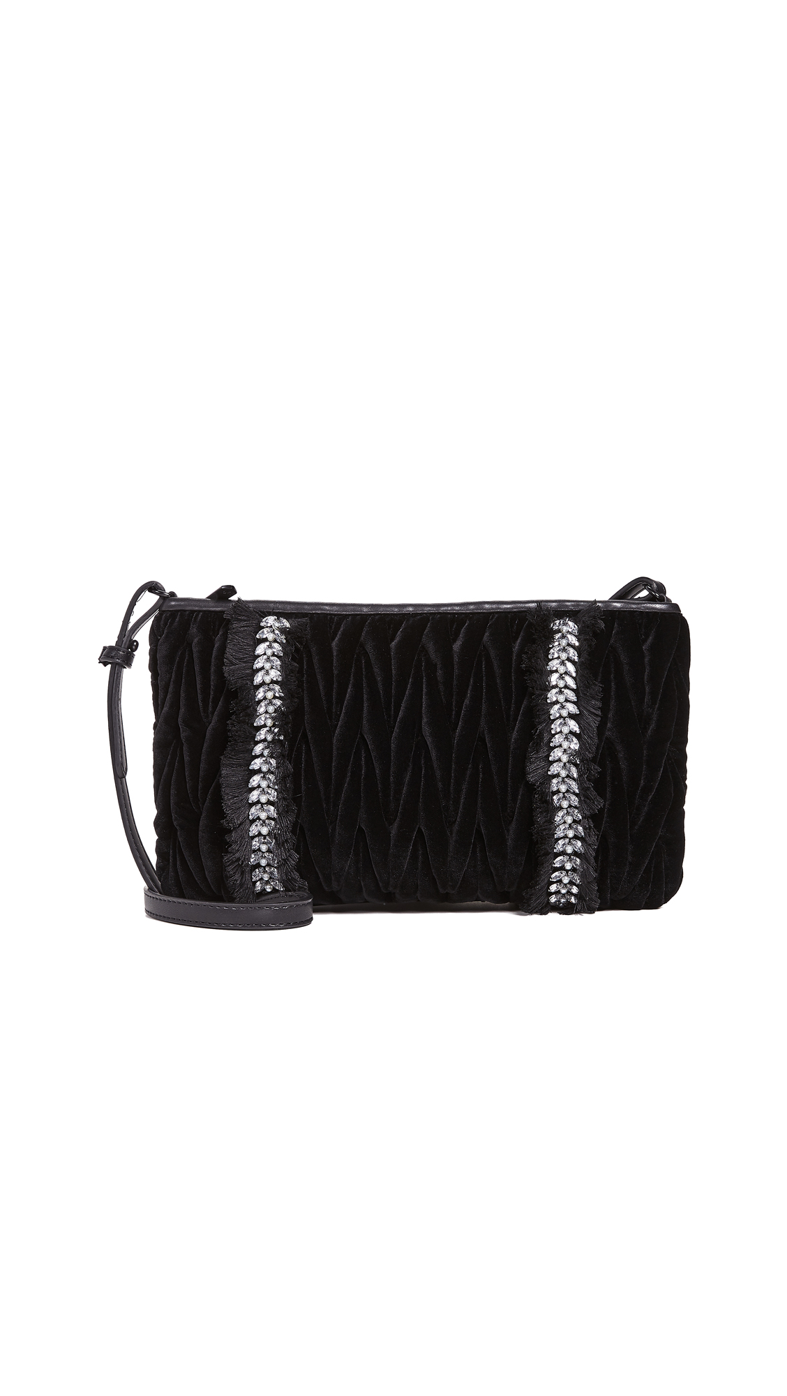 Sam Edelman Elizabella Clutch In Black