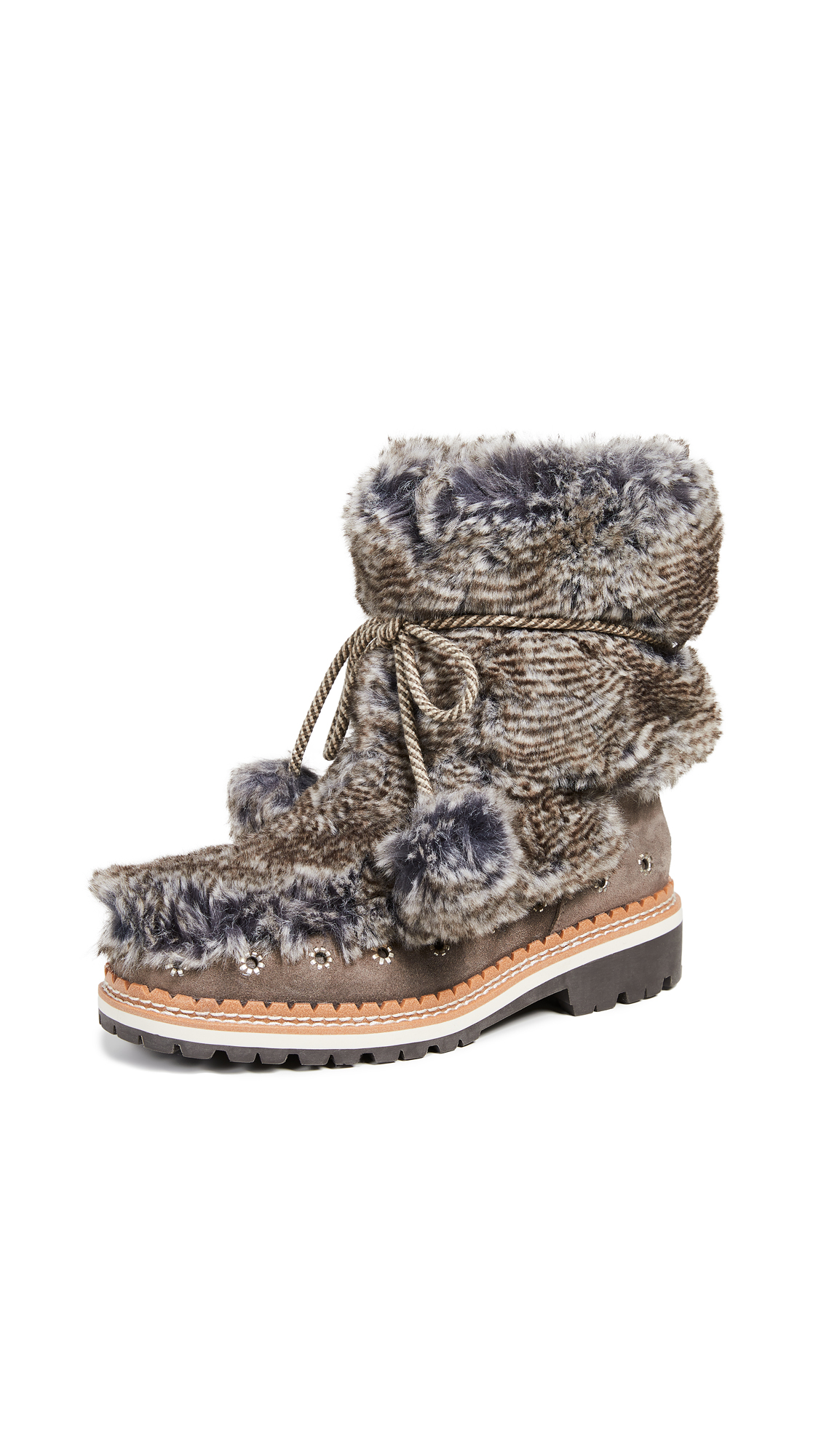 Sam Edelman Blanche Boots - Grey Multi/Flint Grey