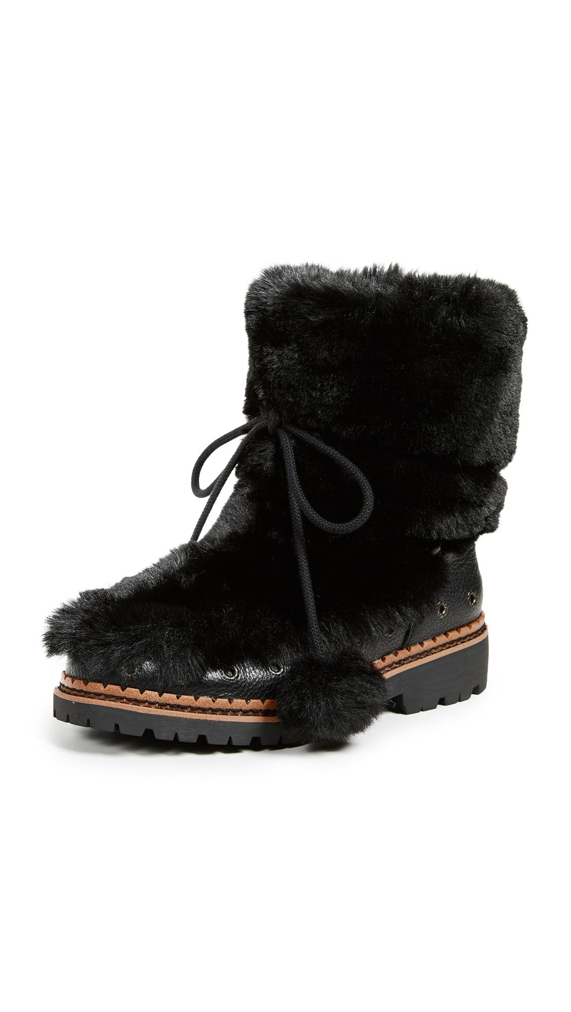 Sam Edelman Blanche Boots - Black