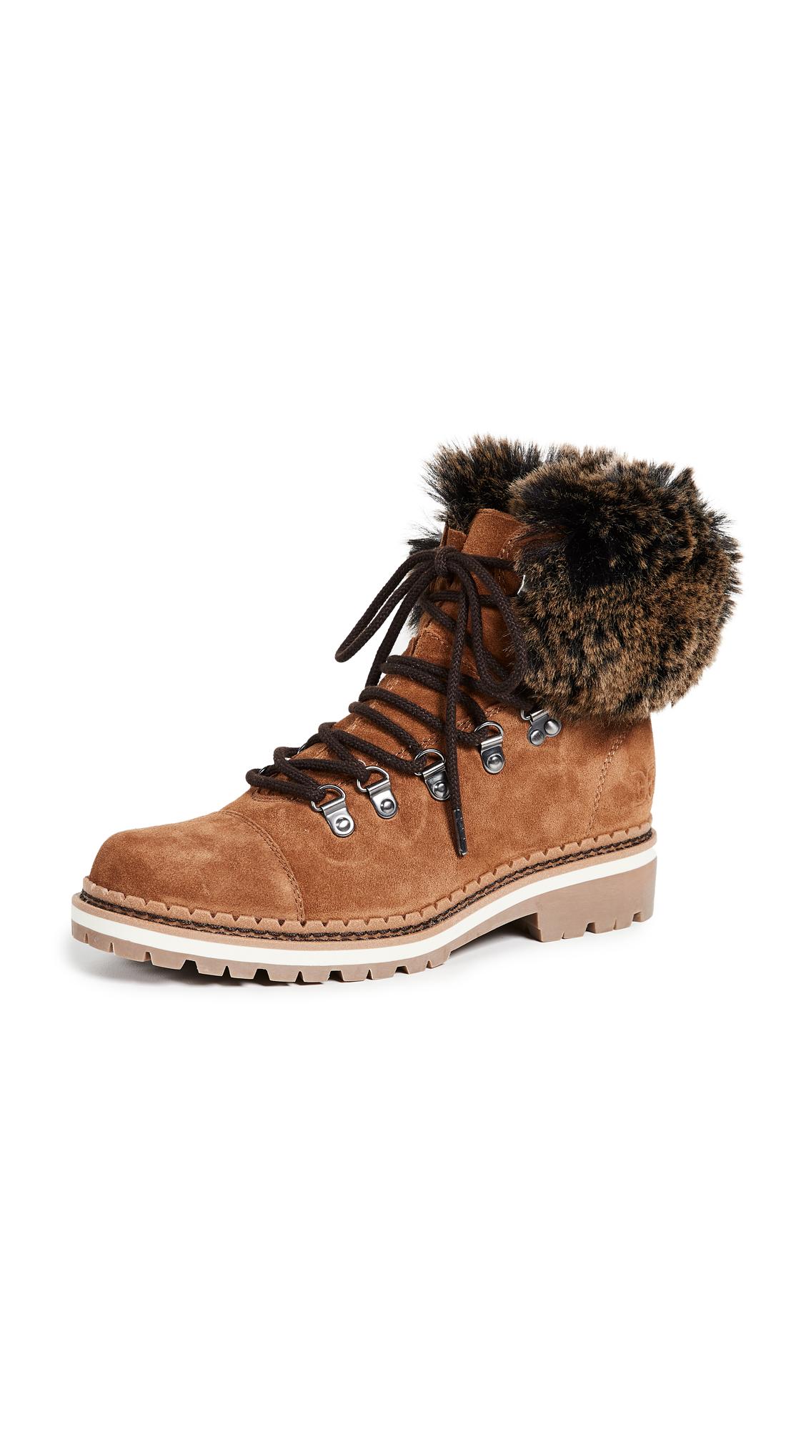 Sam Edelman Bowen Boots - Luggage/Cognac Multi