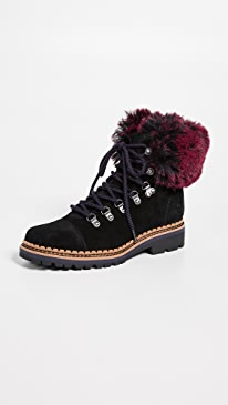 678e539cd91eb8 Stylish Fur Booties