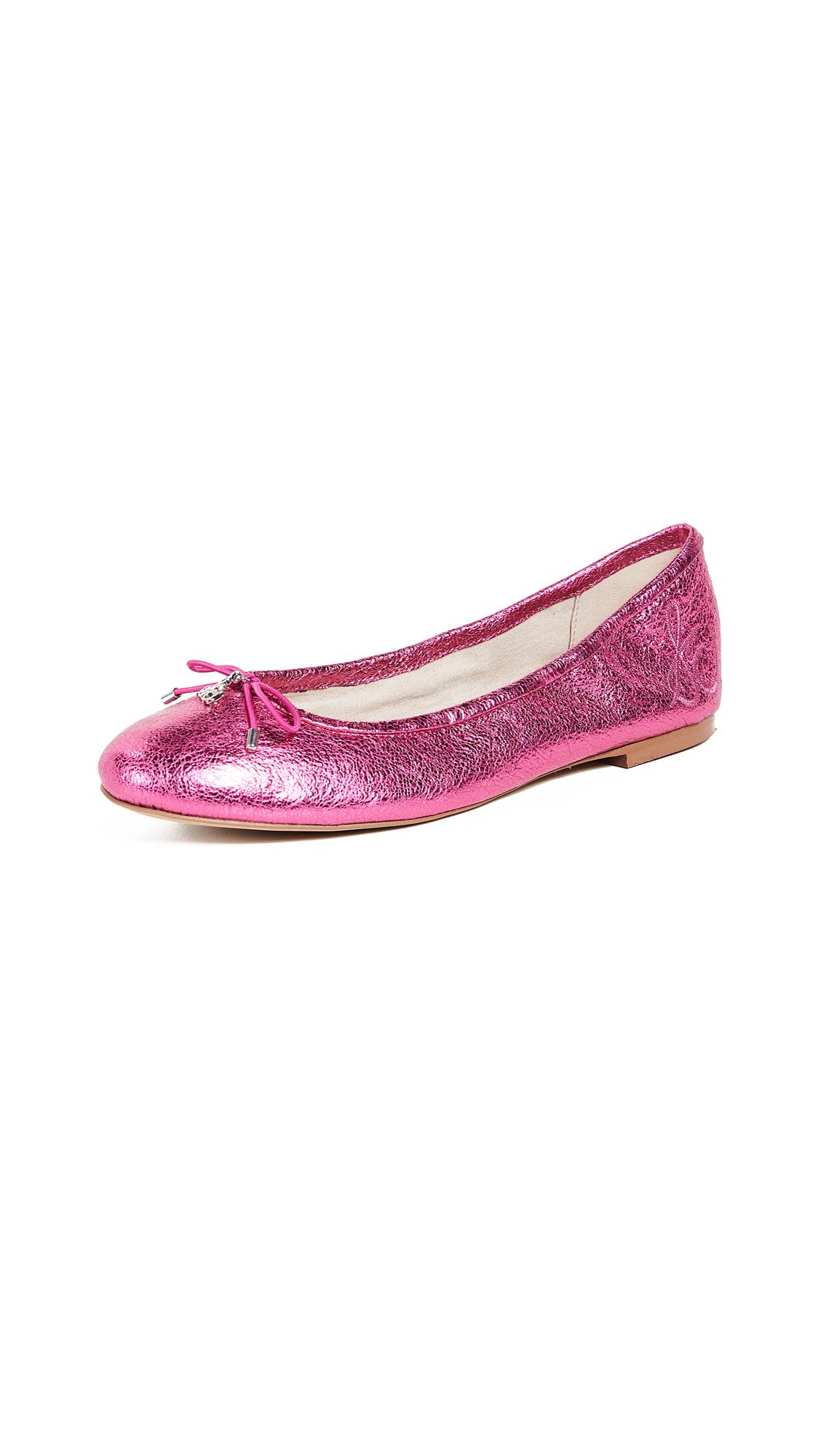 Sam Edelman Felicia Ballet Flats - Pomegranate Pink