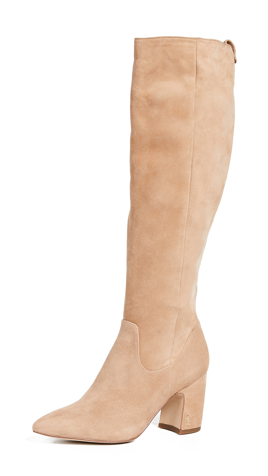Sam Edelman Hai Tall Boots - Golden Caramel