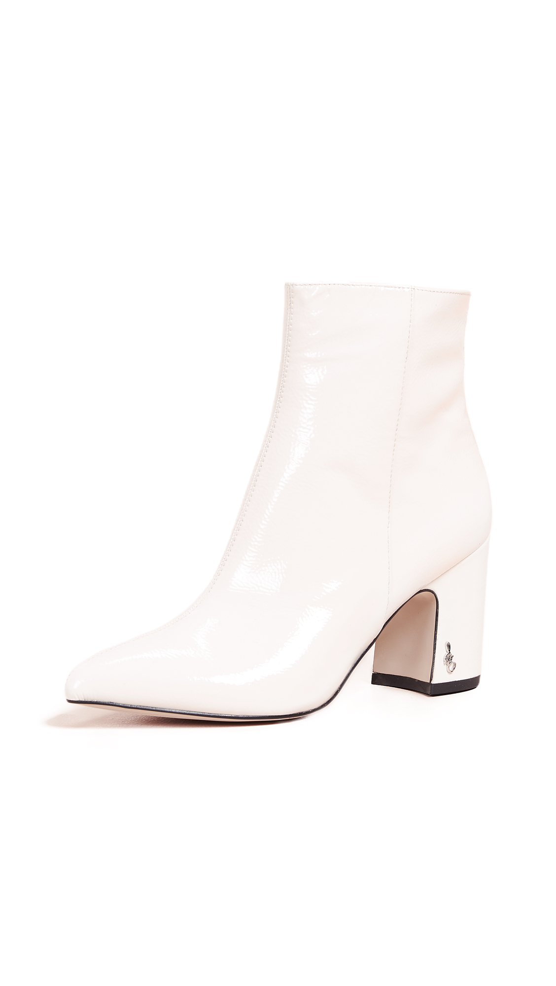 Sam Edelman Hilty Booties - Bright White