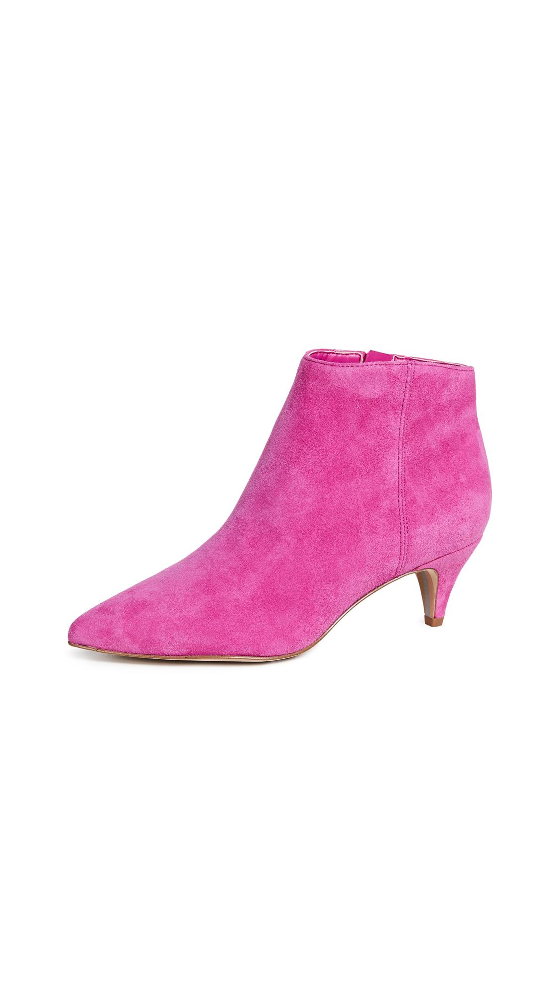Sam Edelman Kinzey Booties - Retro Pink